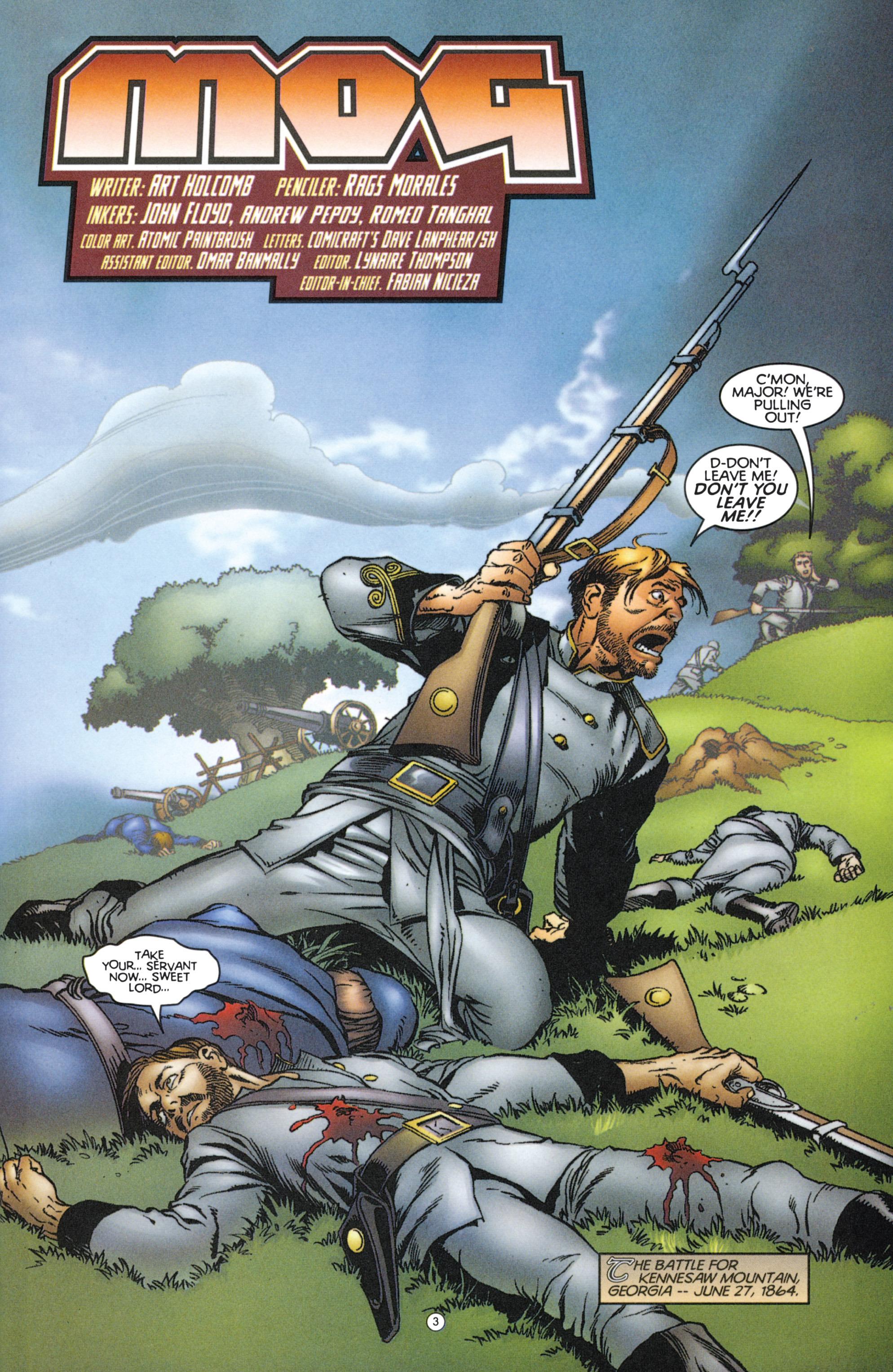 Read online Eternal Warriors comic -  Issue # Issue Mog - 4