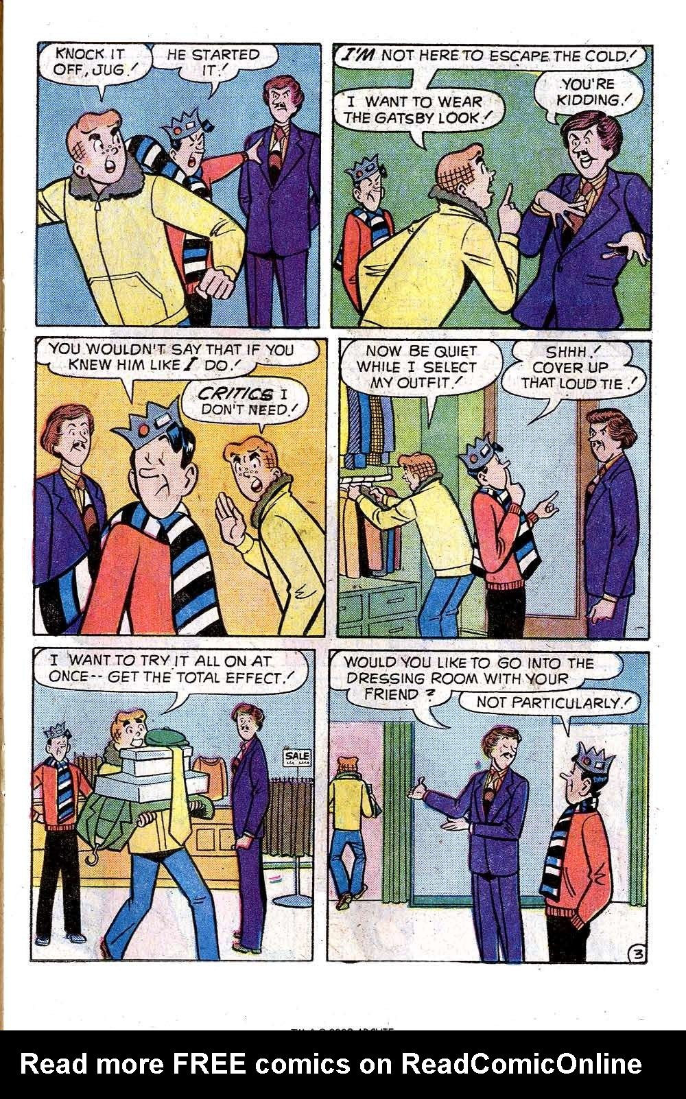 Read online Archie (1960) comic -  Issue #242 - 15