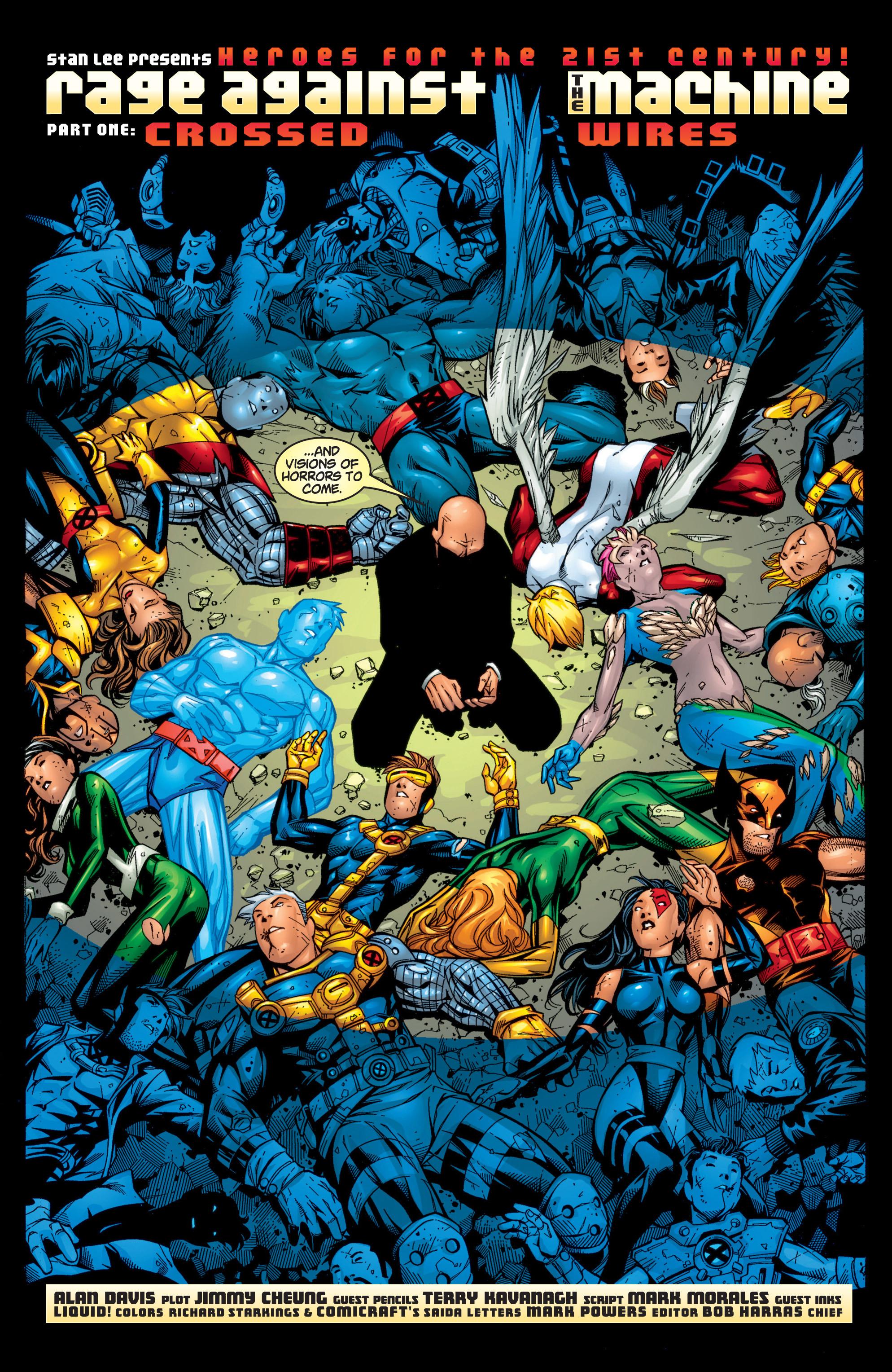 Read online Uncanny X-Men (1963) comic -  Issue #371 - 3