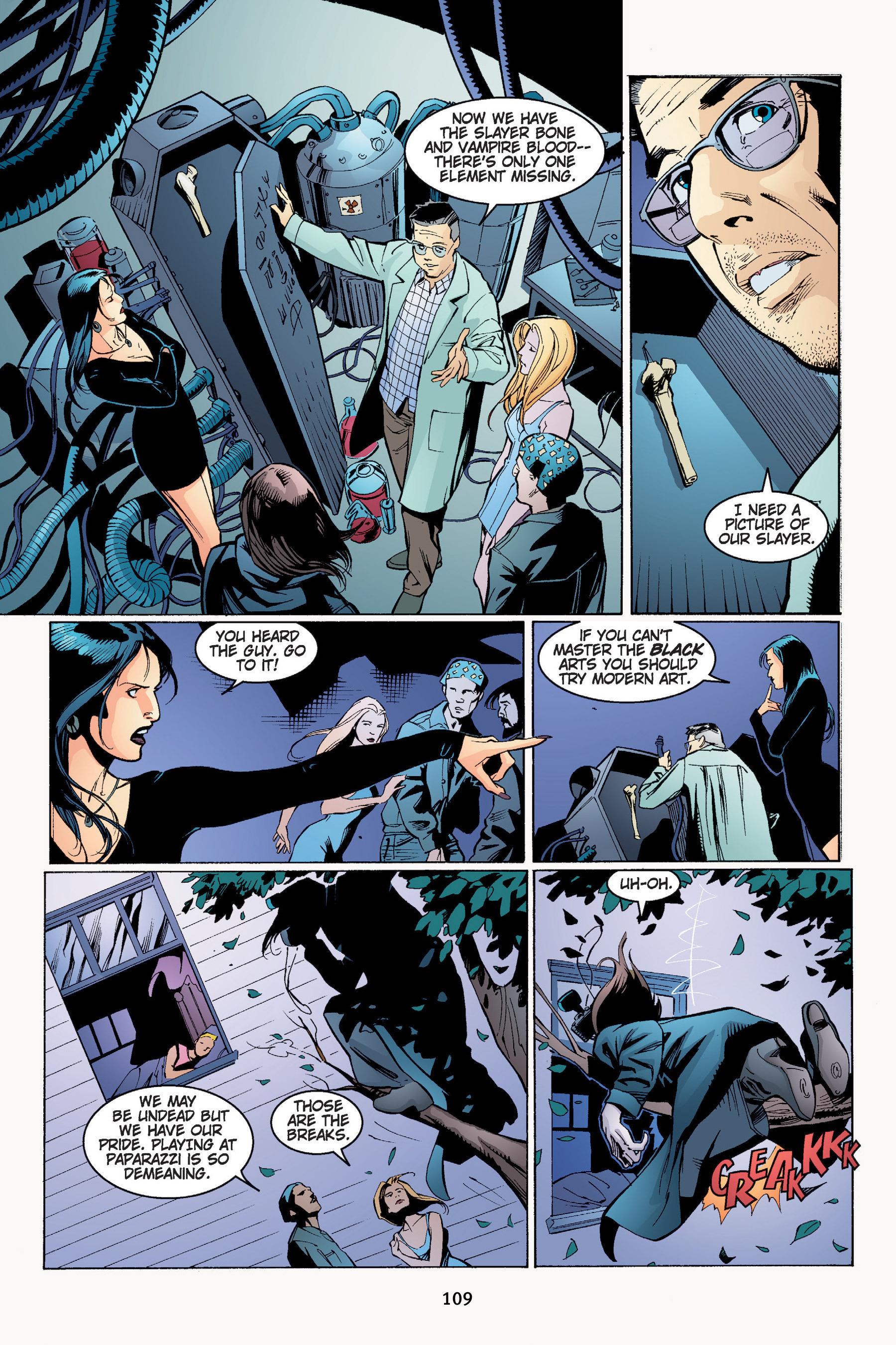 Read online Buffy the Vampire Slayer: Omnibus comic -  Issue # TPB 4 - 110
