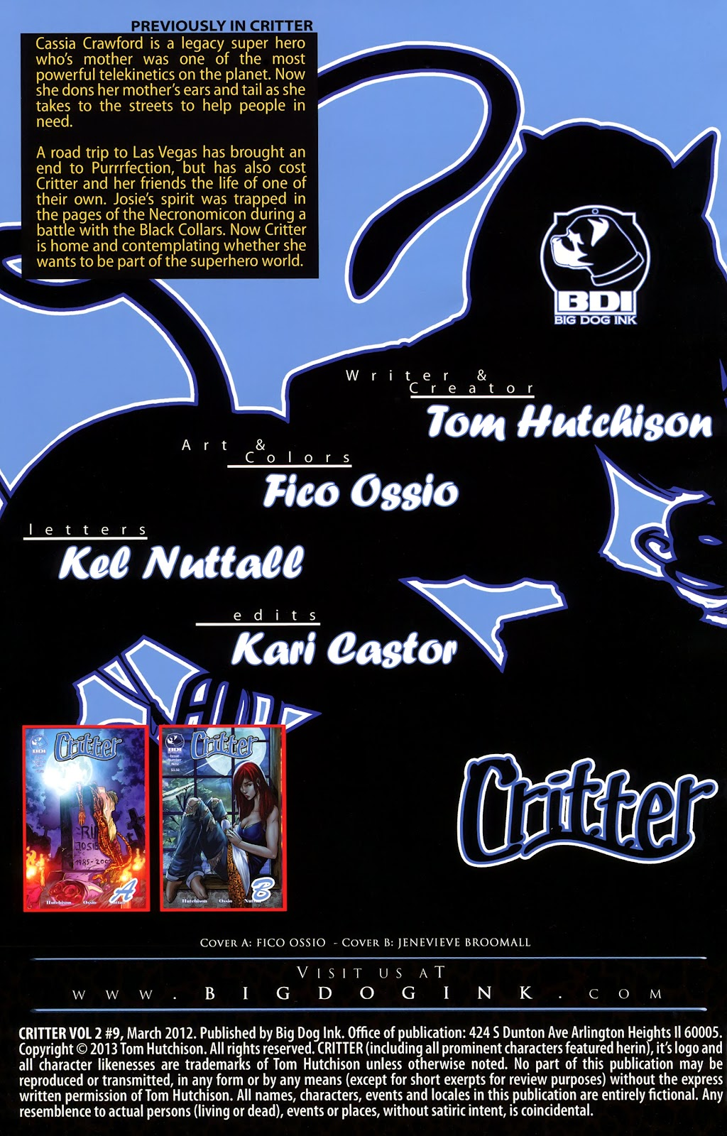Read online Critter (2012) comic -  Issue #9 - 2