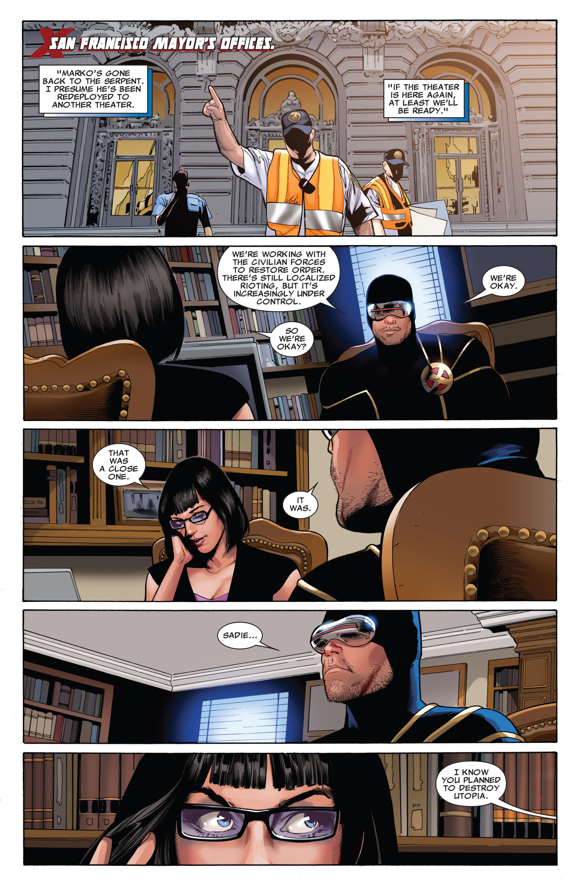 Read online Uncanny X-Men (1963) comic -  Issue #543 - 19