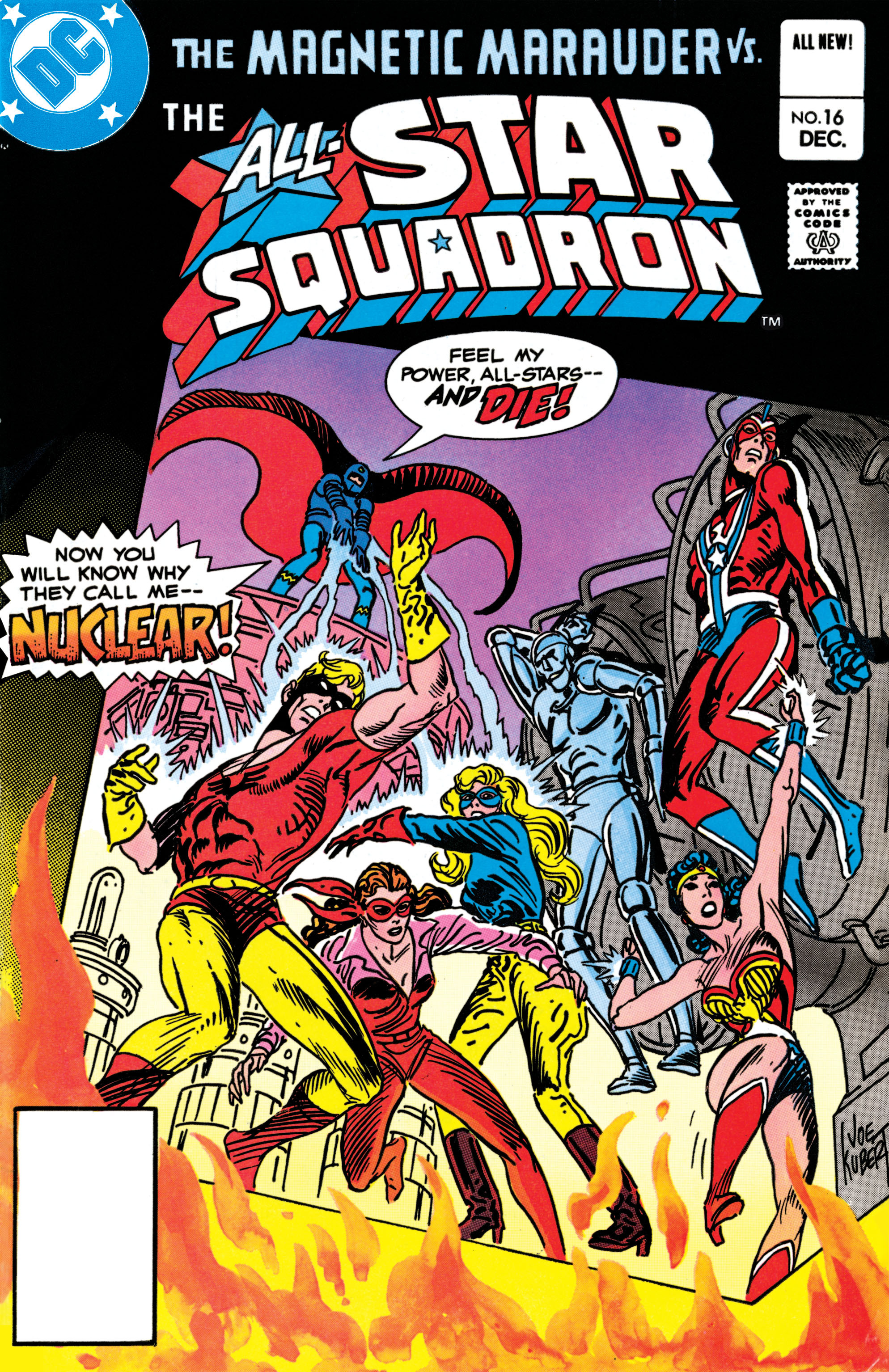 Read online All-Star Squadron comic -  Issue #16 - 1