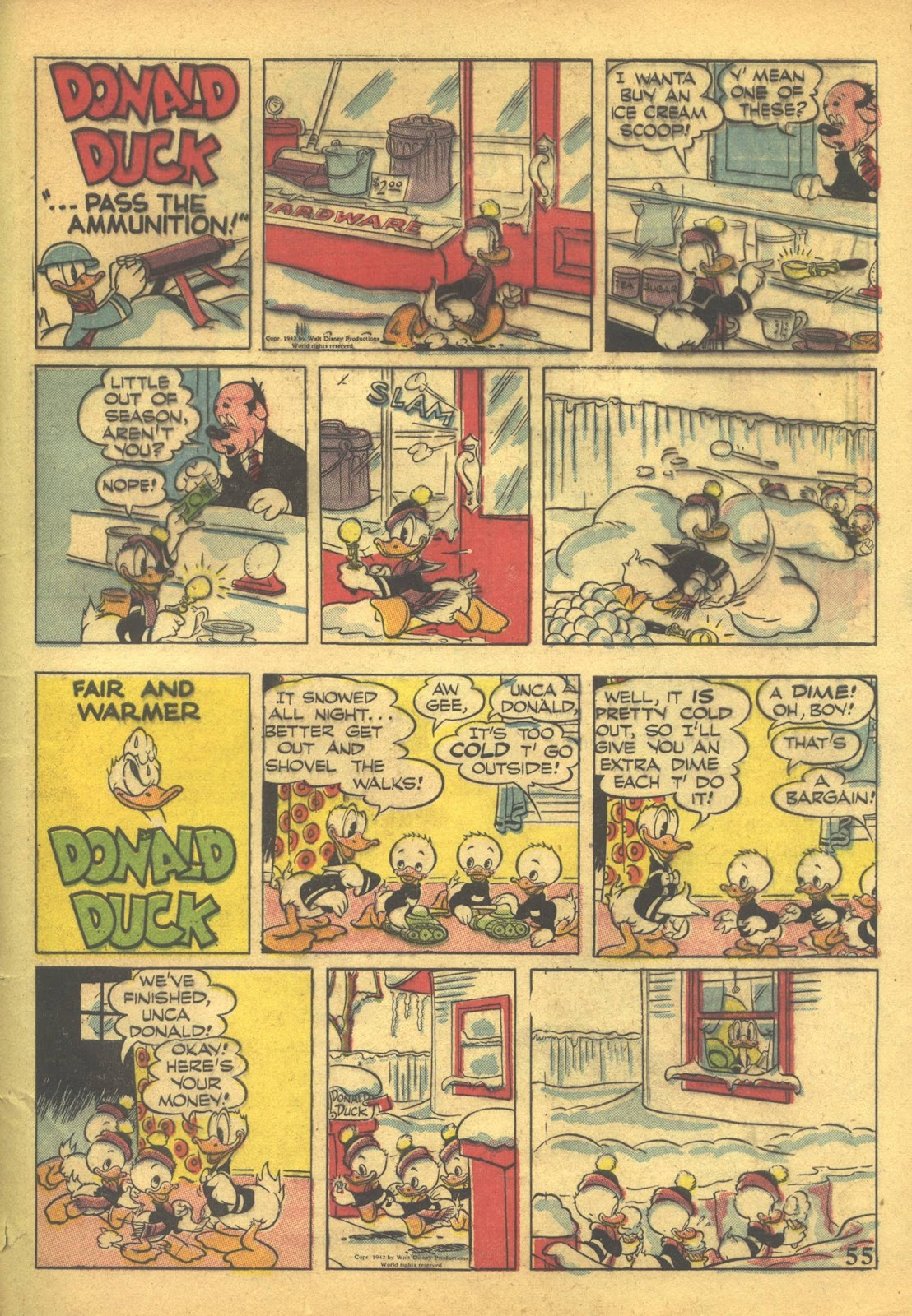 Walt Disney's Comics and Stories issue 41 - Page 57