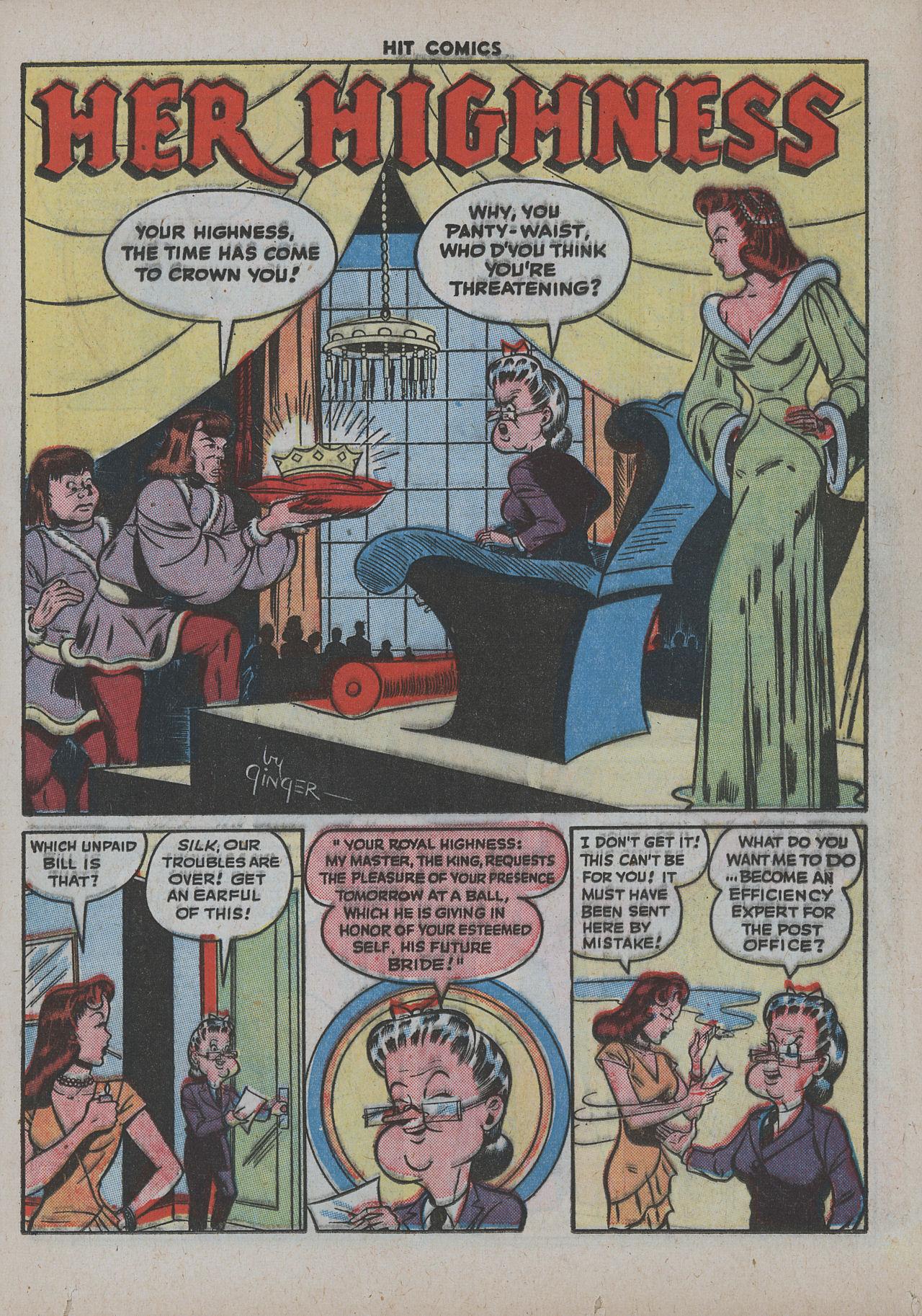 Read online Hit Comics comic -  Issue #38 - 28