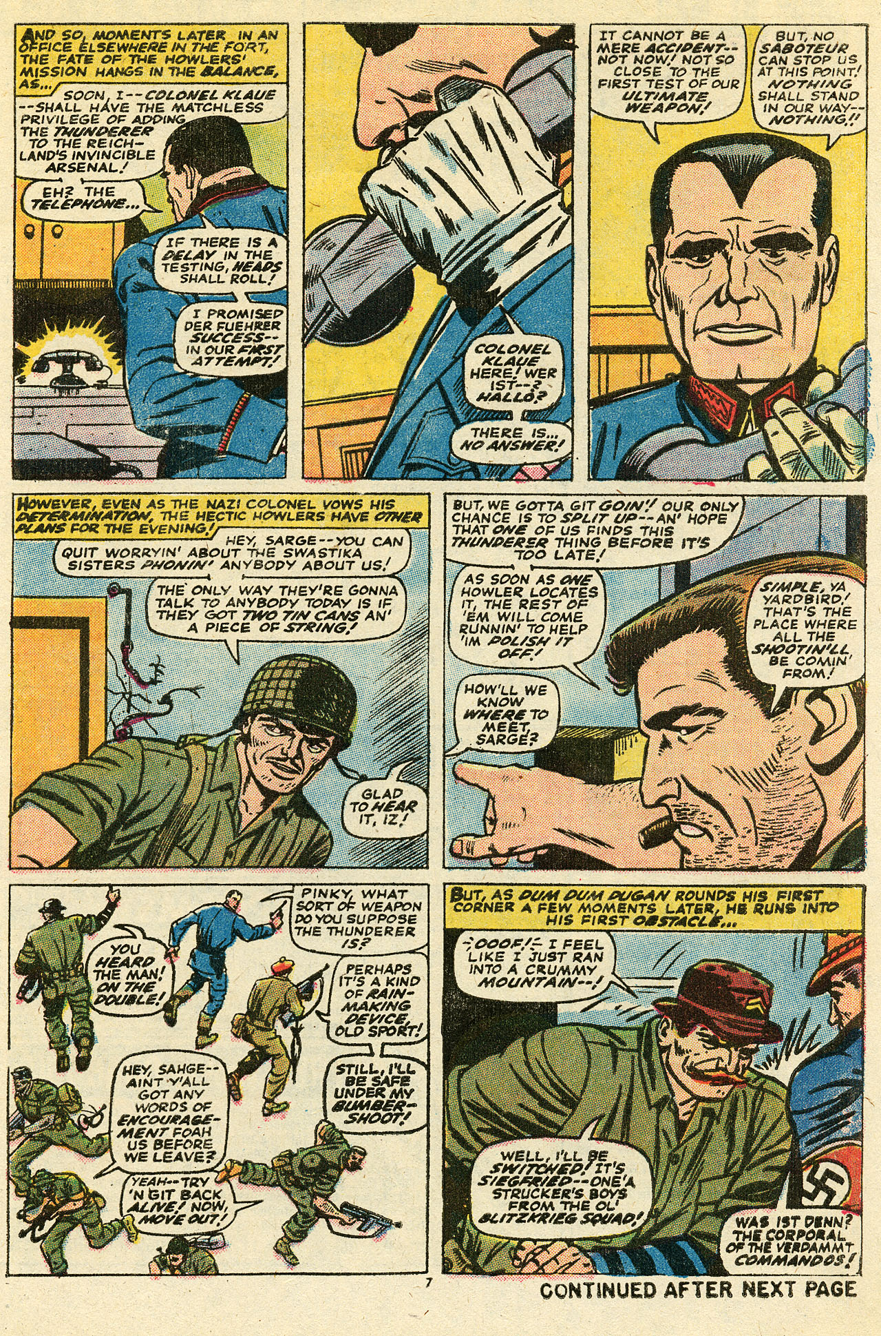Read online Sgt. Fury comic -  Issue #111 - 9