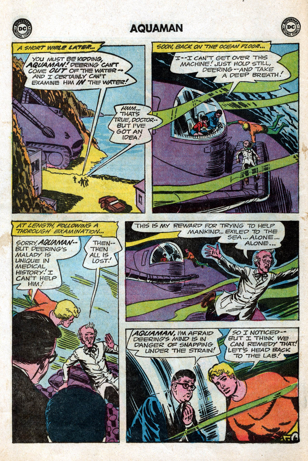Read online Aquaman (1962) comic -  Issue #15 - 8