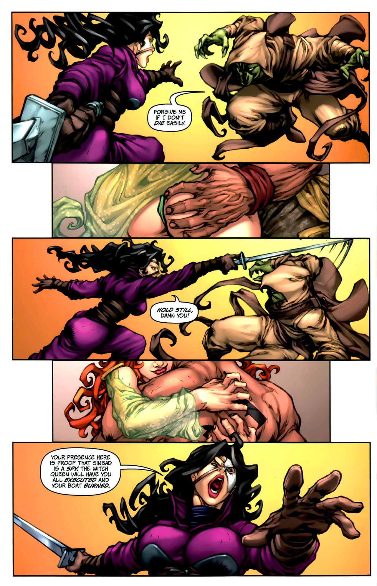 Read online 1001 Arabian Nights: The Adventures of Sinbad comic -  Issue #2 - 10