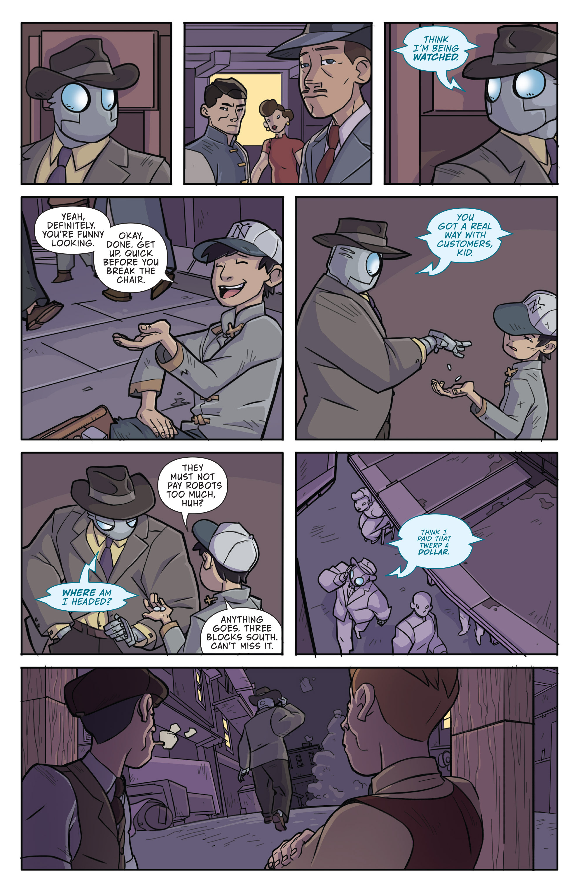 Read online Atomic Robo and the Temple of Od comic -  Issue #1 - 10