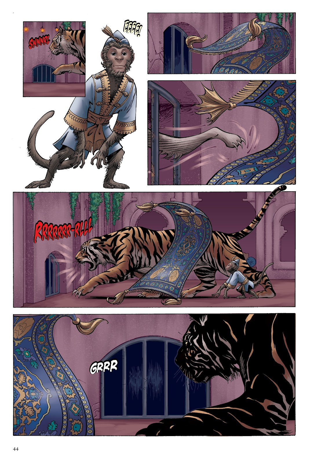 Read online Disney Aladdin: Four Tales of Agrabah comic -  Issue # TPB - 44