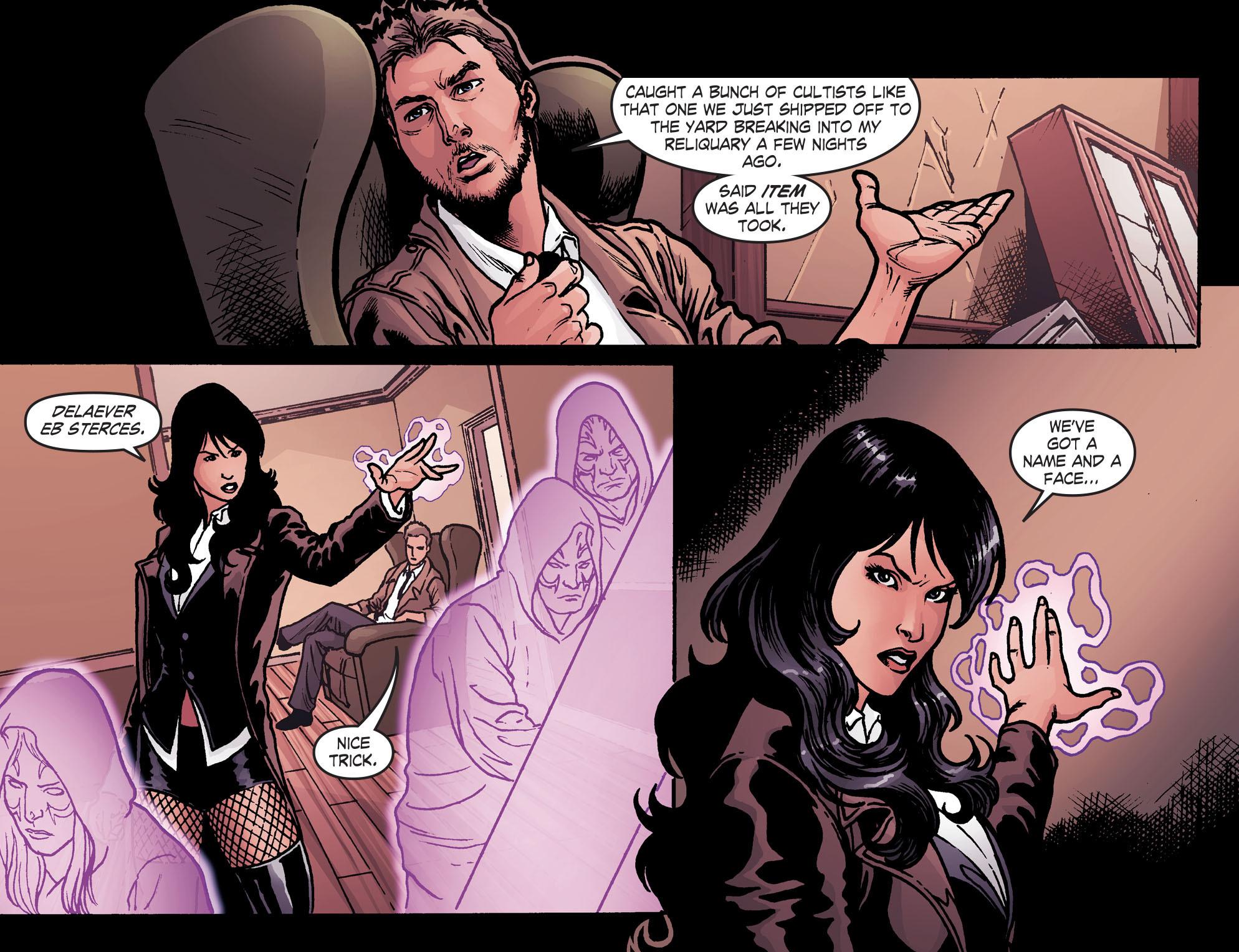 Read online Smallville: Harbinger comic -  Issue #2 - 14