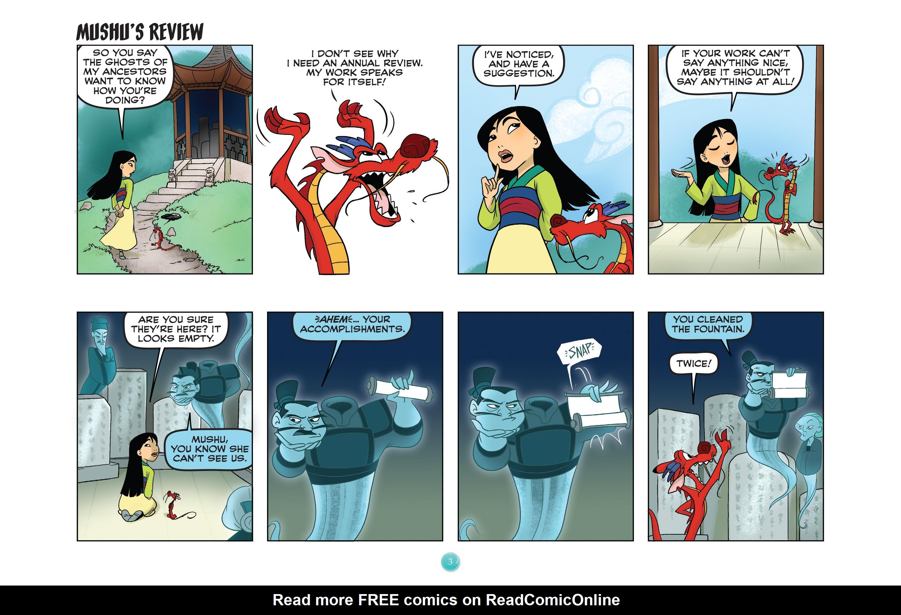 Read online Disney Princess comic -  Issue #5 - 6