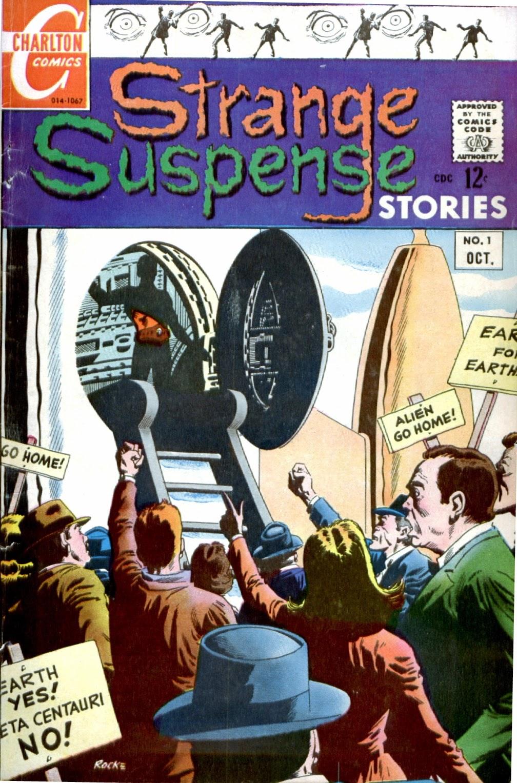 Strange Suspense Stories (1967) issue 1 - Page 1