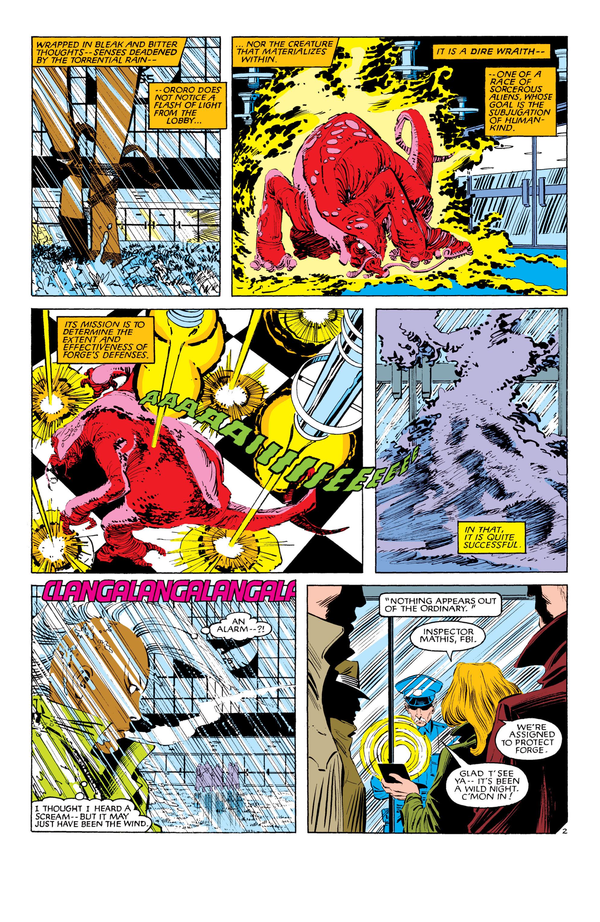 Read online Uncanny X-Men (1963) comic -  Issue #187 - 3