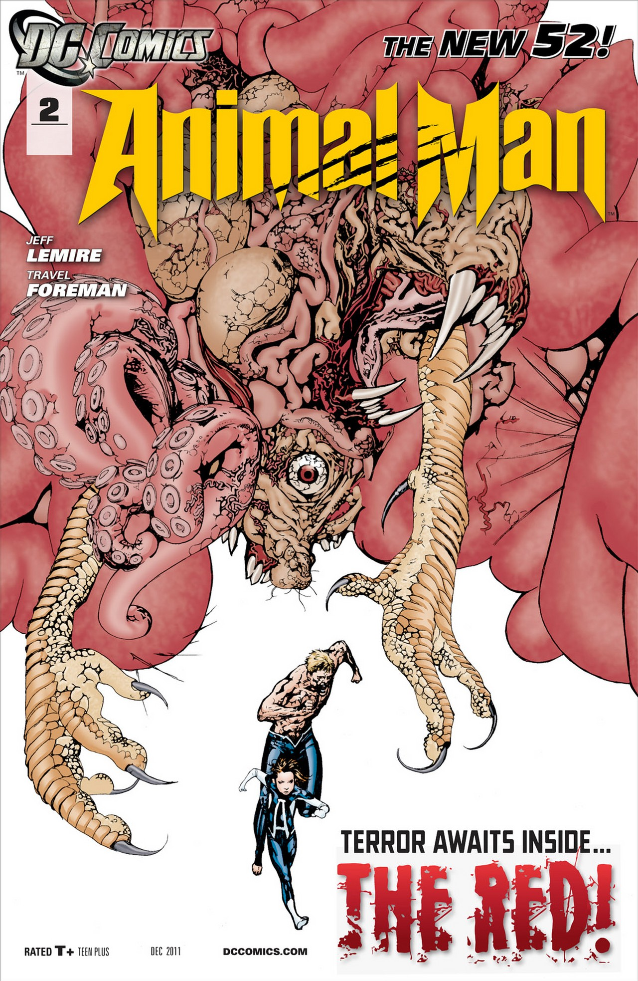 Read online Animal Man (2011) comic -  Issue #2 - 1