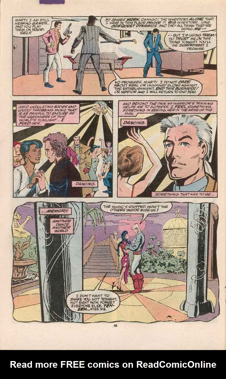 Read online Justice (1986) comic -  Issue #1 - 17