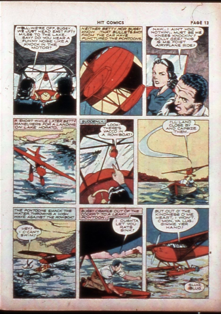 Read online Hit Comics comic -  Issue #14 - 15