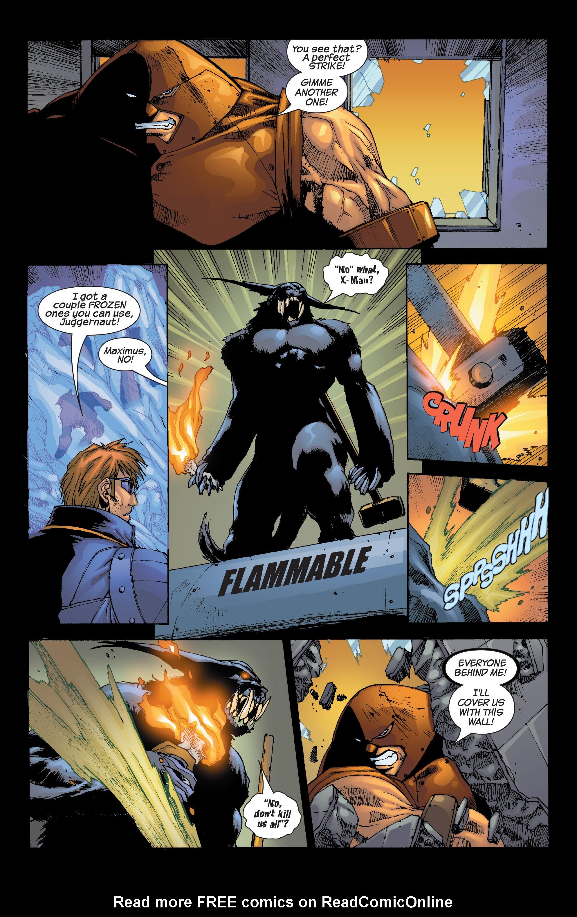 Read online Uncanny X-Men (1963) comic -  Issue #420 - 20