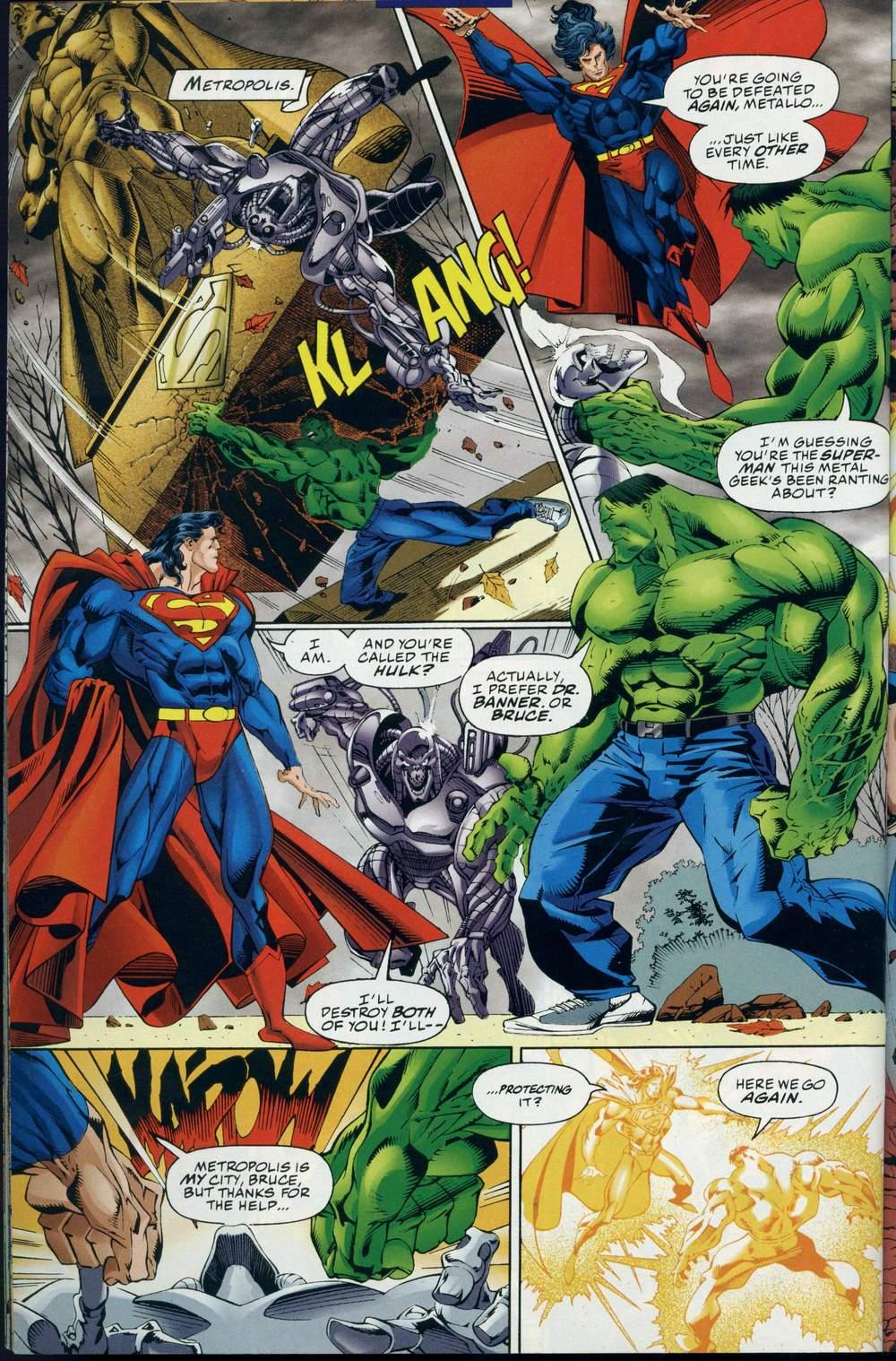Read online DC Versus Marvel Comics comic -  Issue #3 - 29