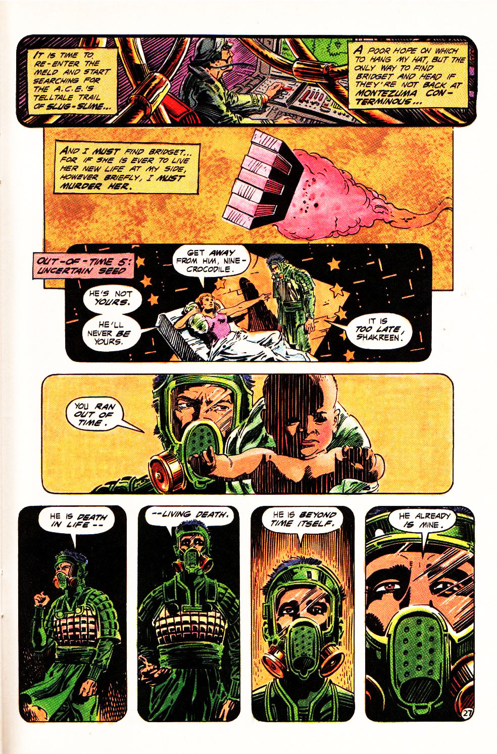 Read online Aztec Ace comic -  Issue #4 - 25