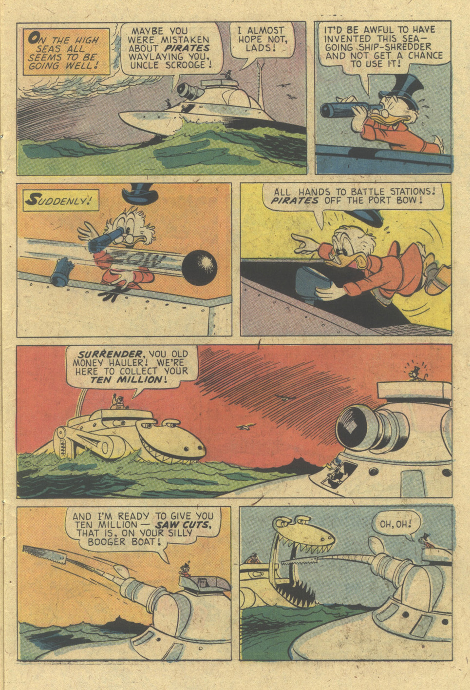 Read online Uncle Scrooge (1953) comic -  Issue #133 - 11