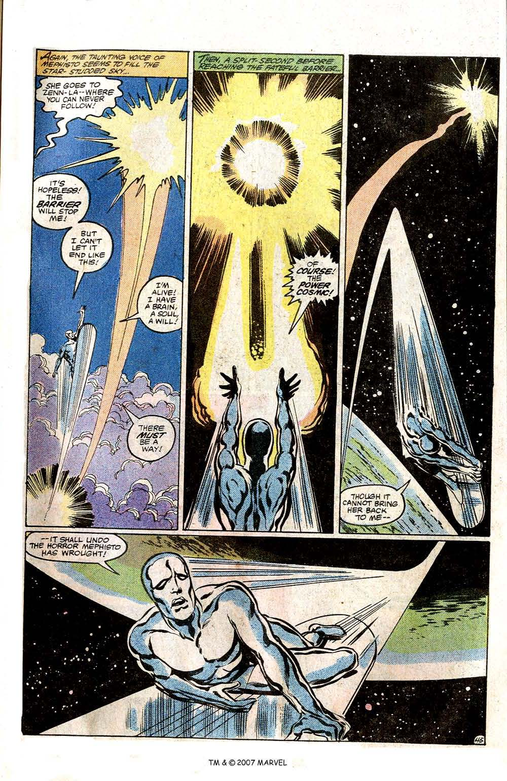 Read online Silver Surfer (1982) comic -  Issue # Full - 47