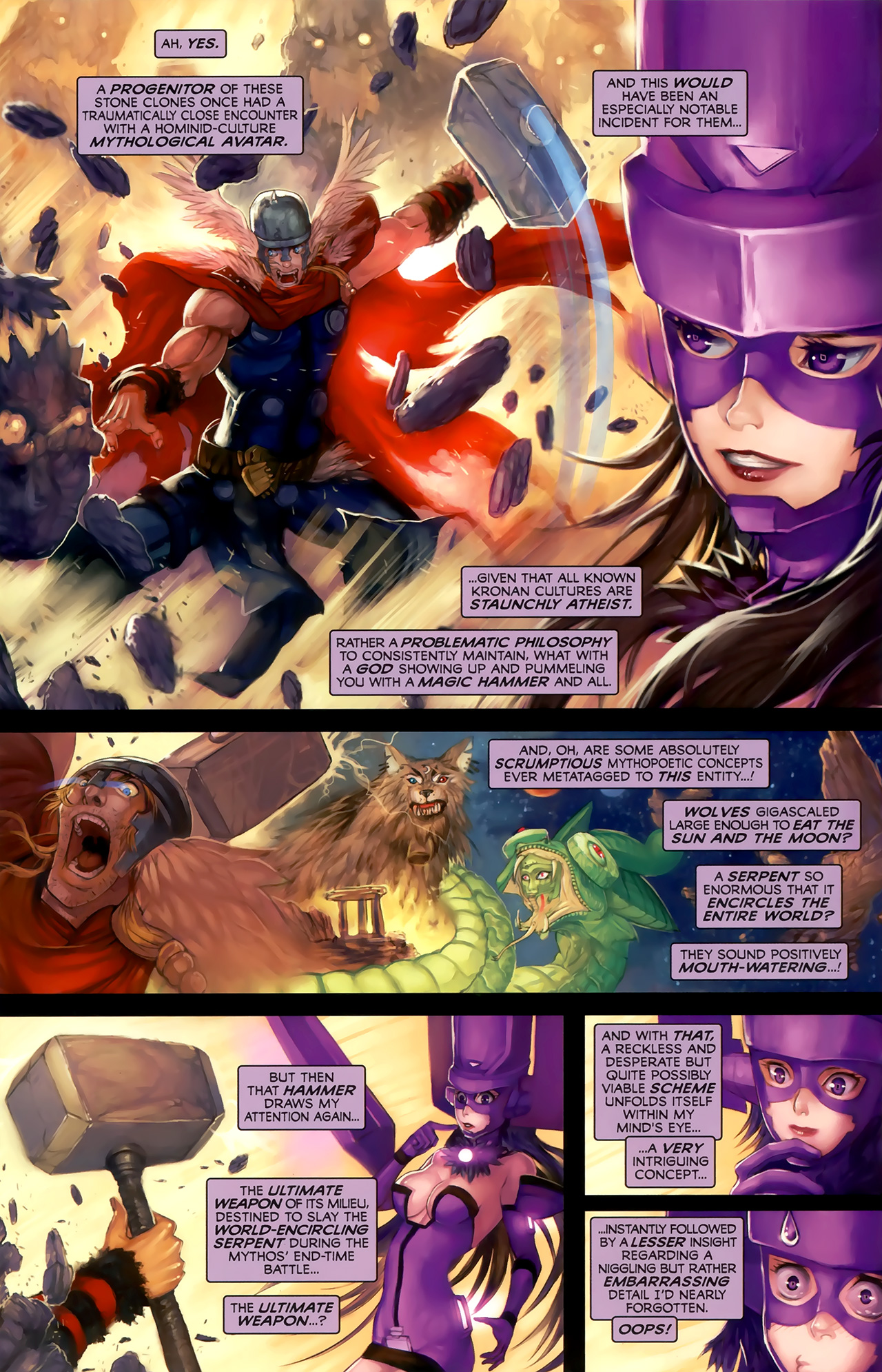 Read online Galacta: Daughter of Galactus comic -  Issue # Full - 23