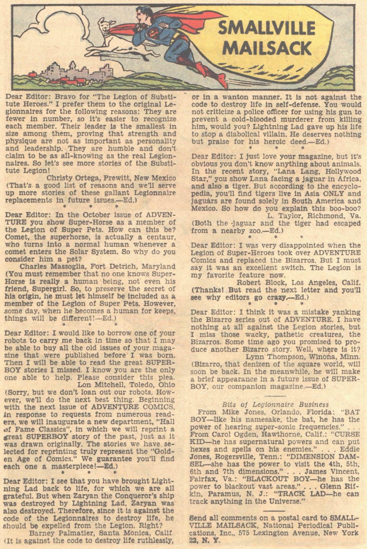 Read online Adventure Comics (1938) comic -  Issue #316 - 12