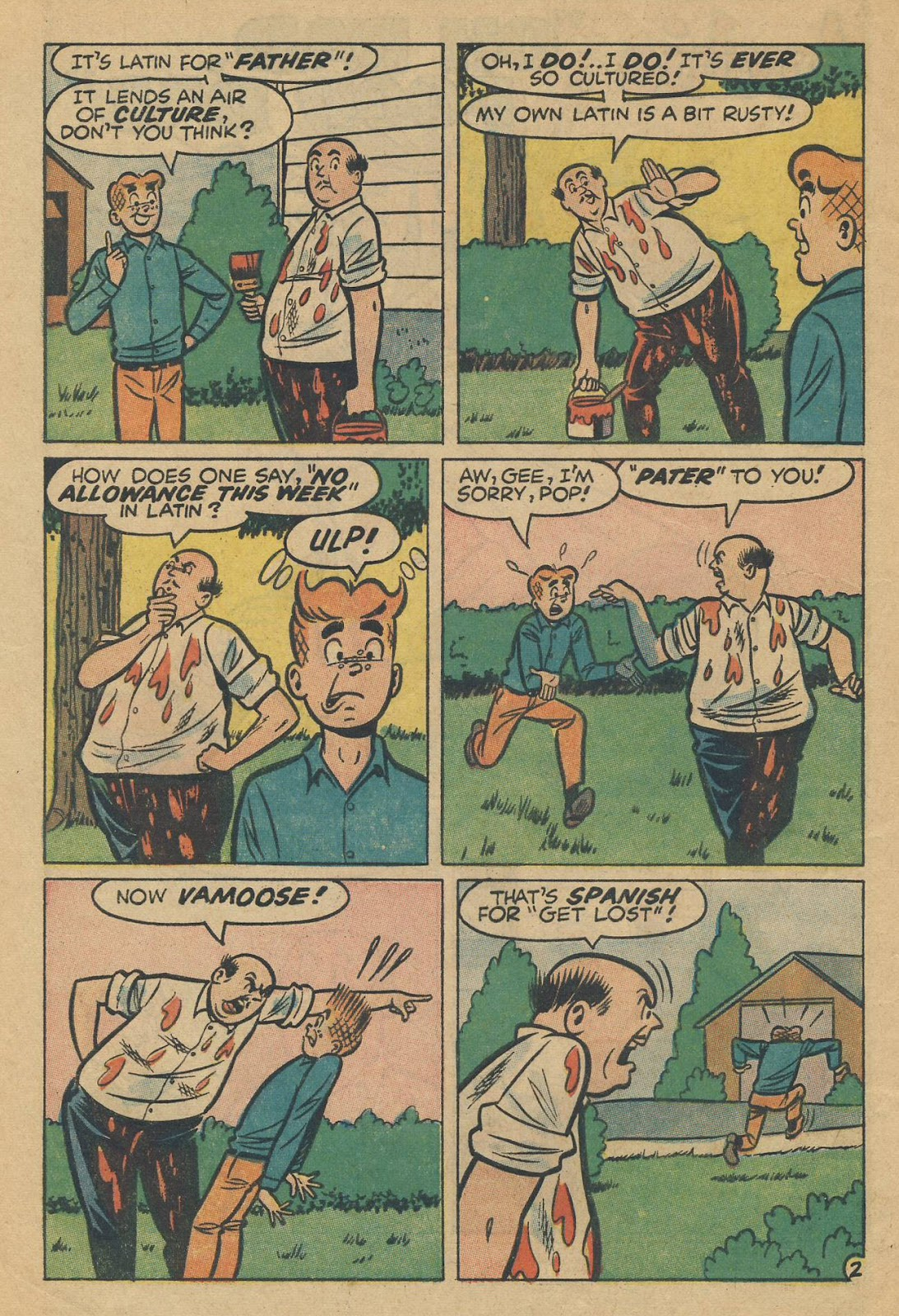 Read online Archie (1960) comic -  Issue #170 - 4