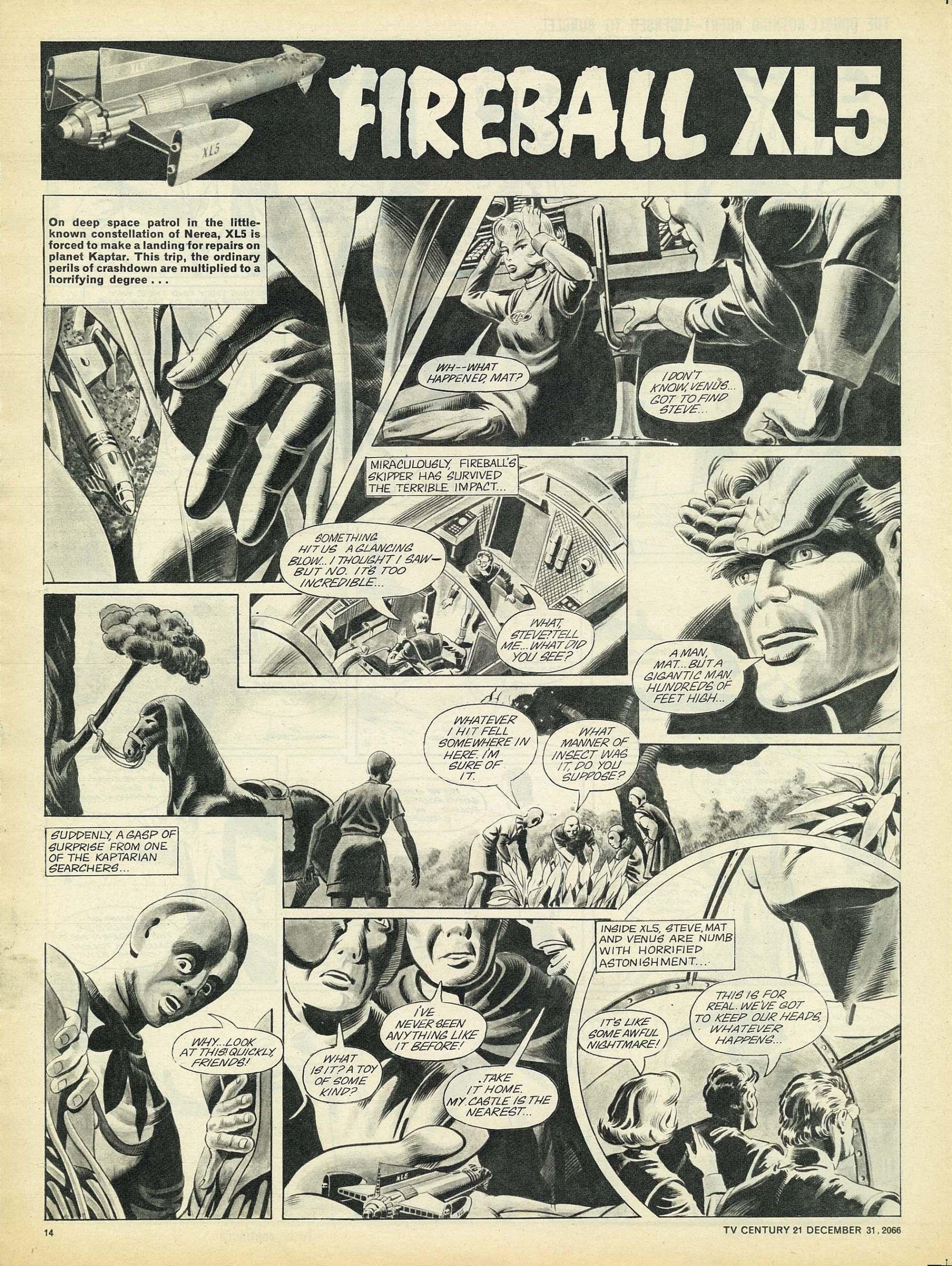 Read online TV Century 21 (TV 21) comic -  Issue #102 - 13