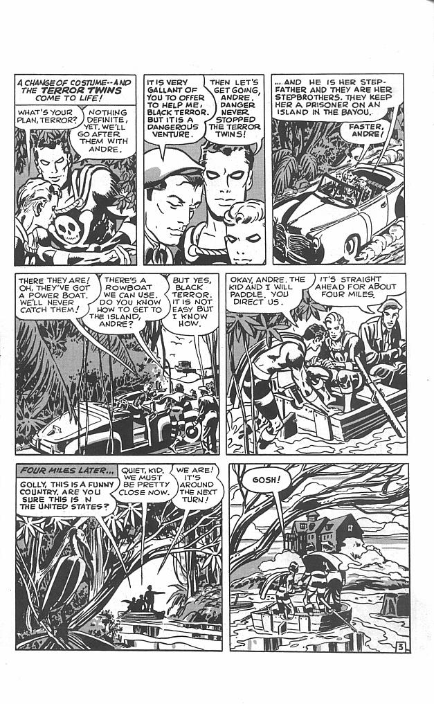 Read online Golden-Age Men of Mystery comic -  Issue #5 - 22