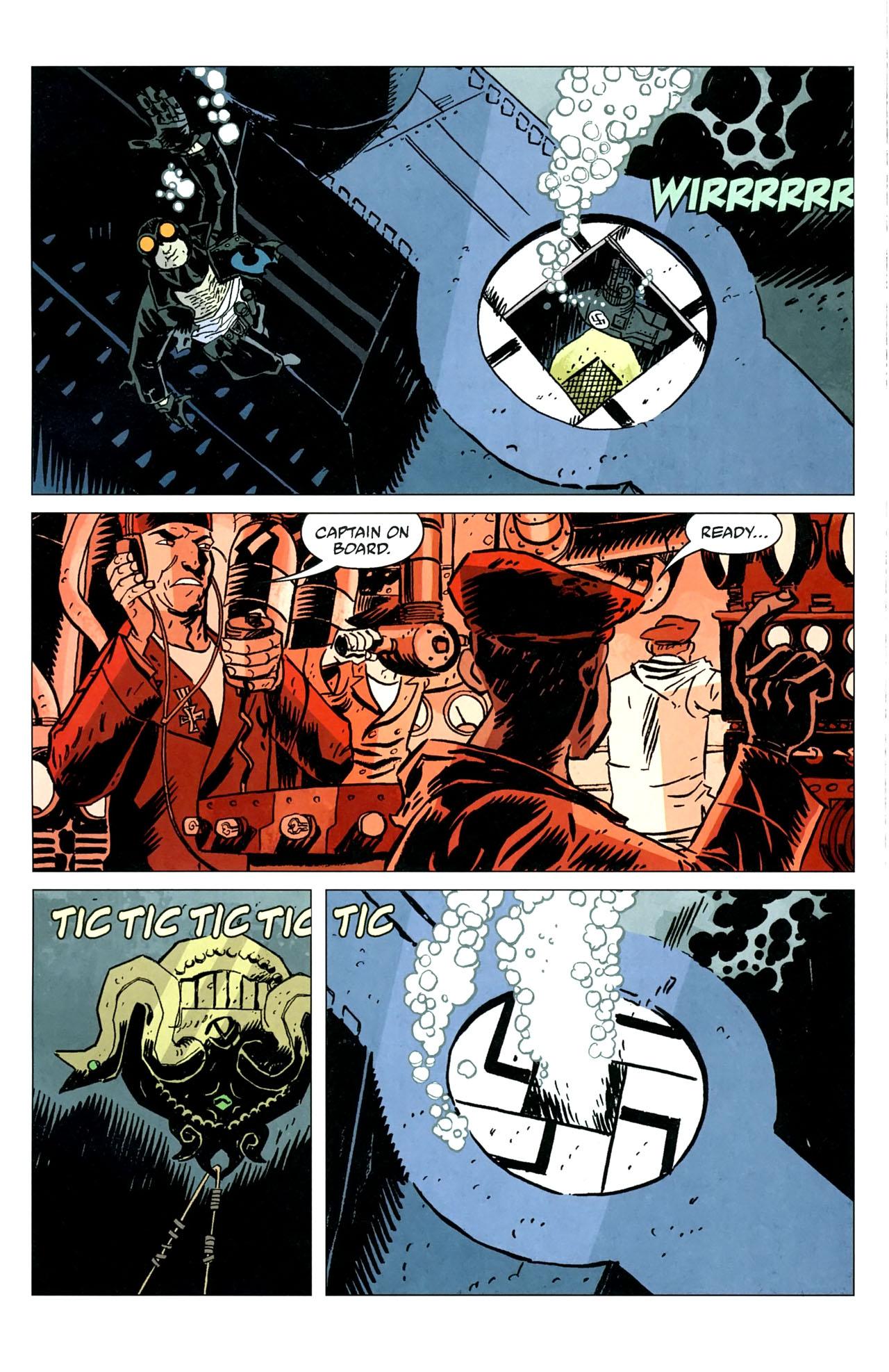 Read online Lobster Johnson: The Iron Prometheus comic -  Issue #5 - 19