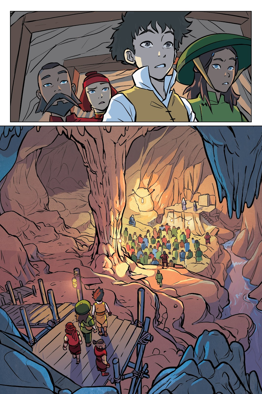 Read online Nickelodeon Avatar: The Last Airbender - Imbalance comic -  Issue # TPB 2 - 44