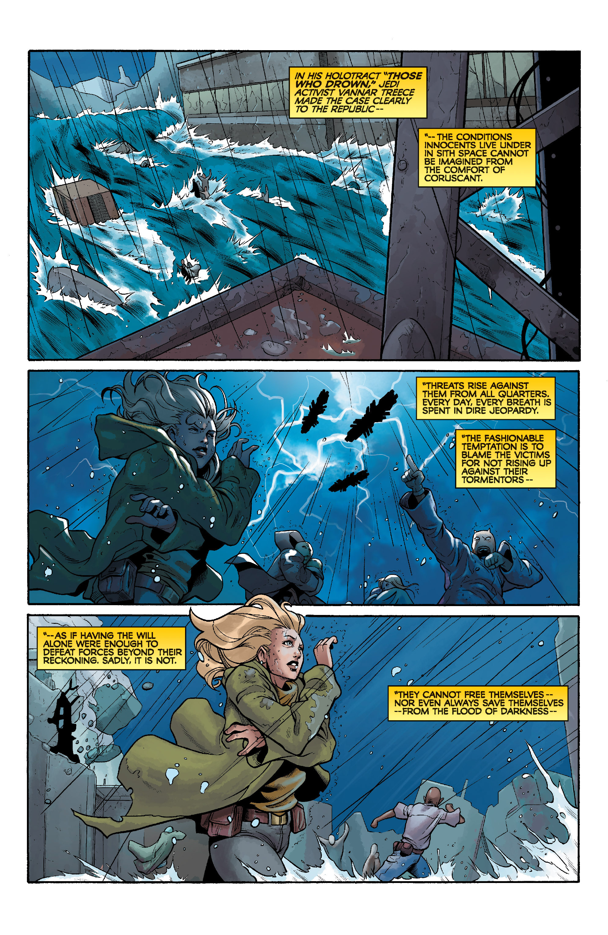Read online Star Wars: Knight Errant - Deluge comic -  Issue #4 - 3