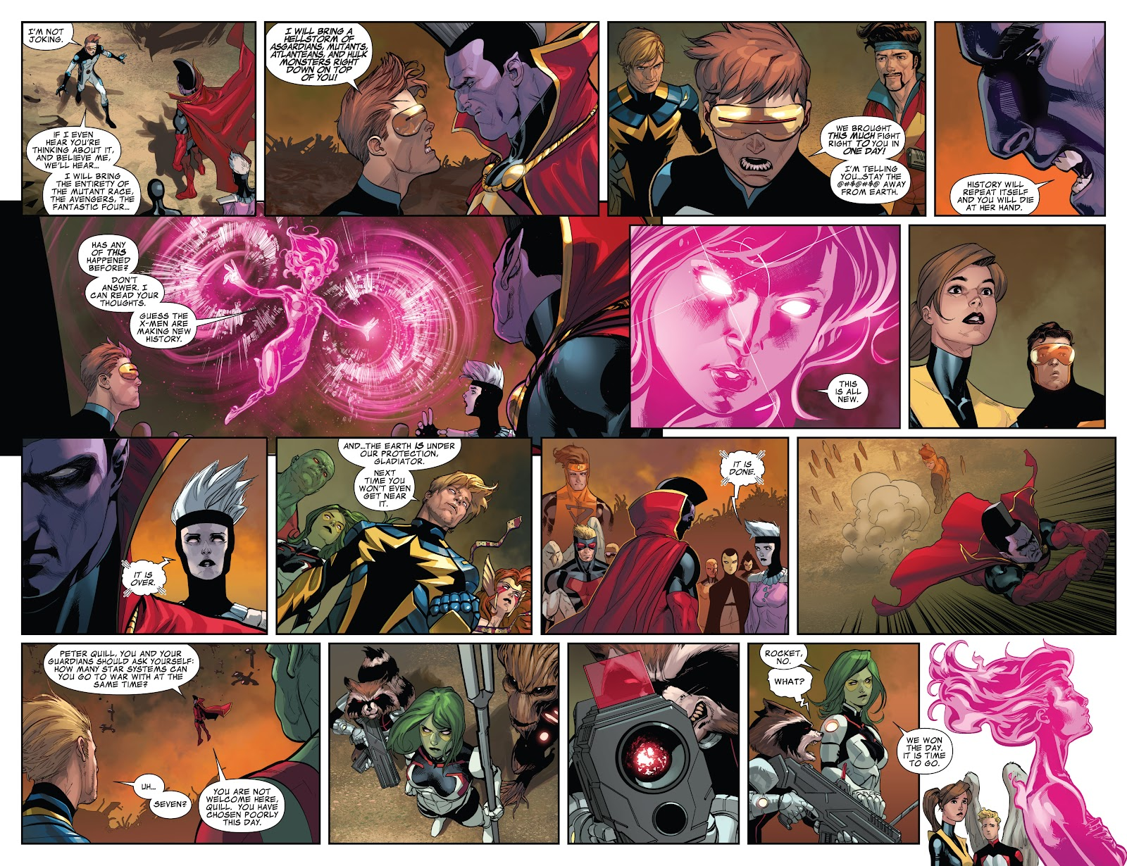 Guardians of the Galaxy/All-New X-Men: The Trial of Jean Grey issue TPB - Page 105