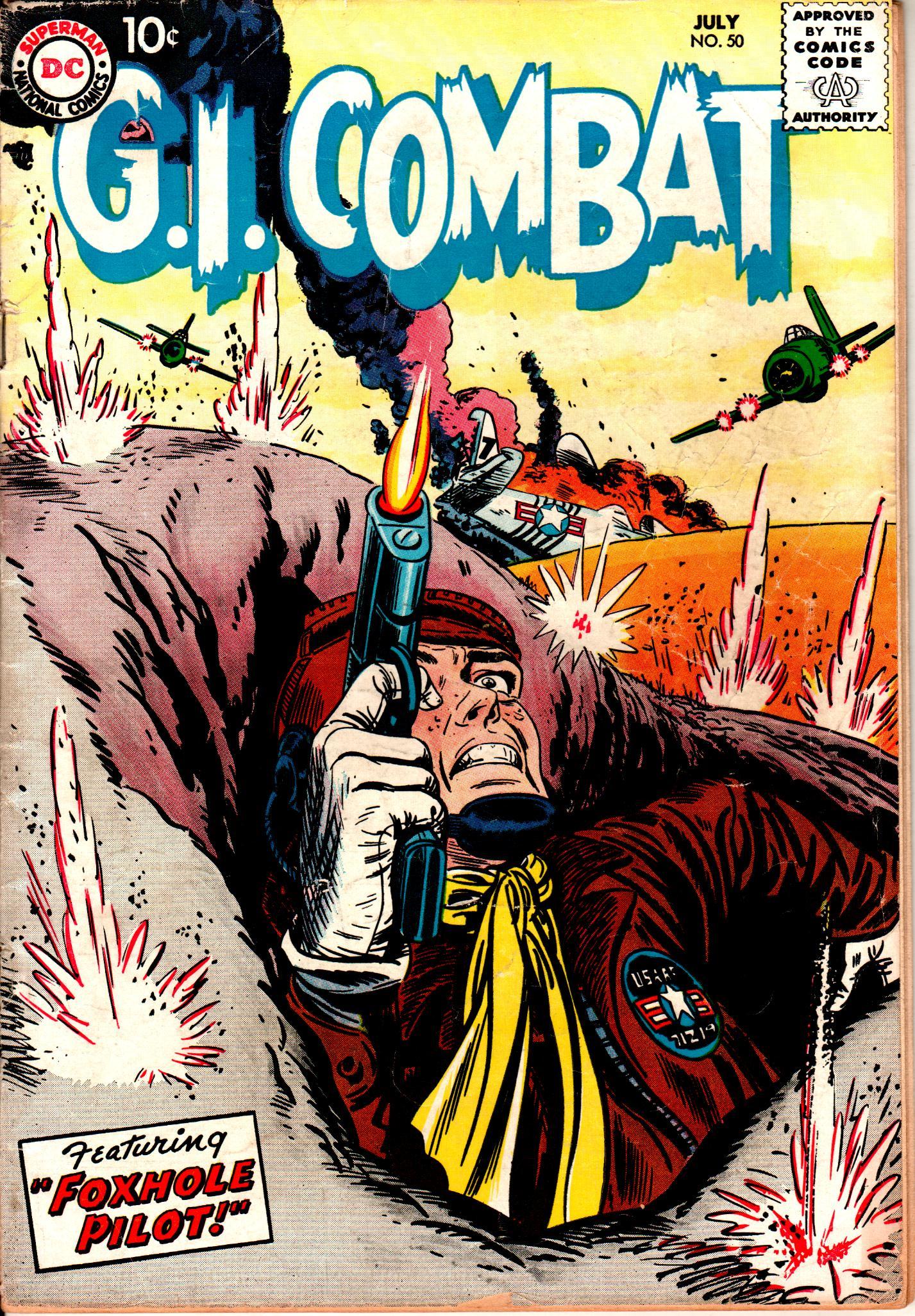 G.I. Combat (1952) 50 Page 1