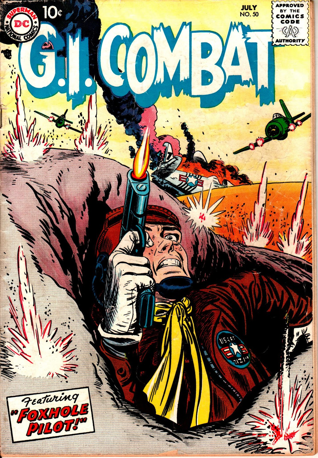G.I. Combat (1952) issue 50 - Page 1