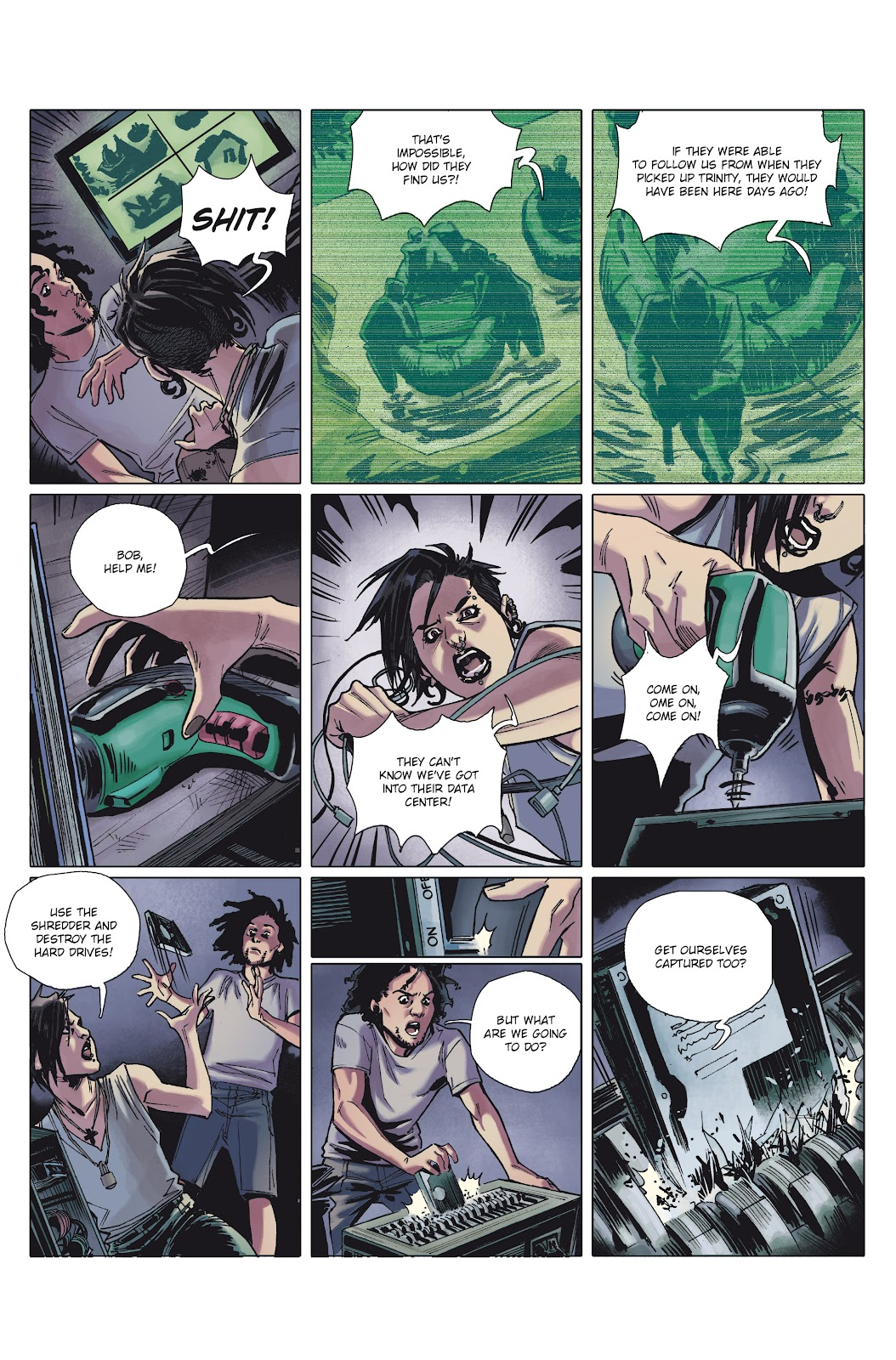 Read online Millennium: The Girl Who Danced With Death comic -  Issue #1 - 37