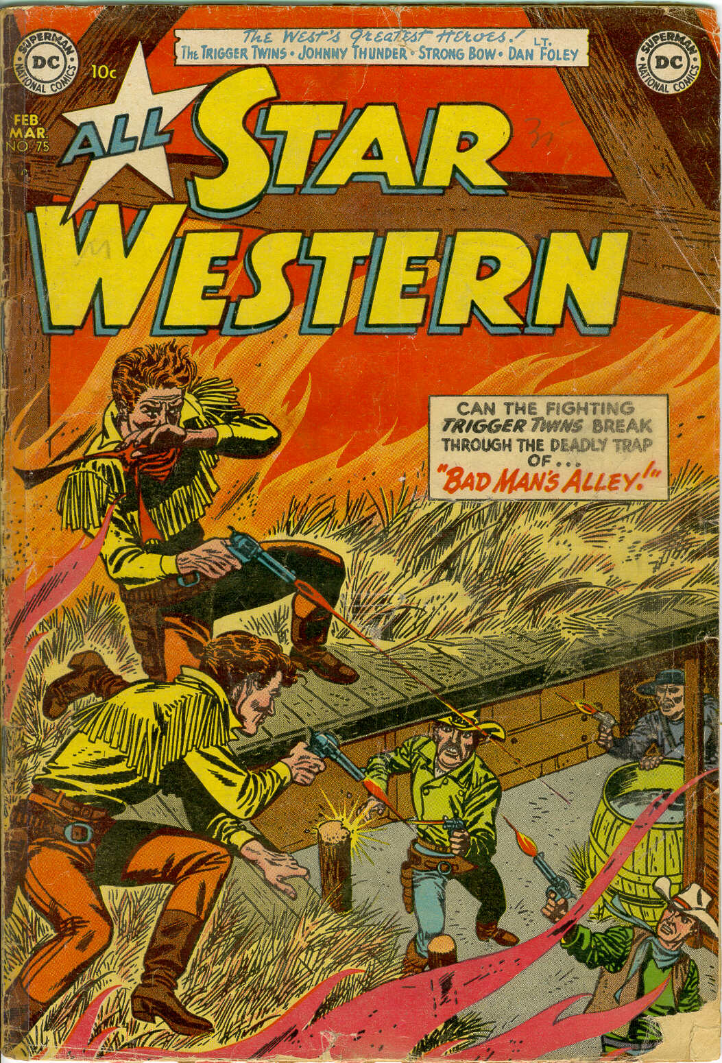 Read online All-Star Western (1951) comic -  Issue #75 - 1