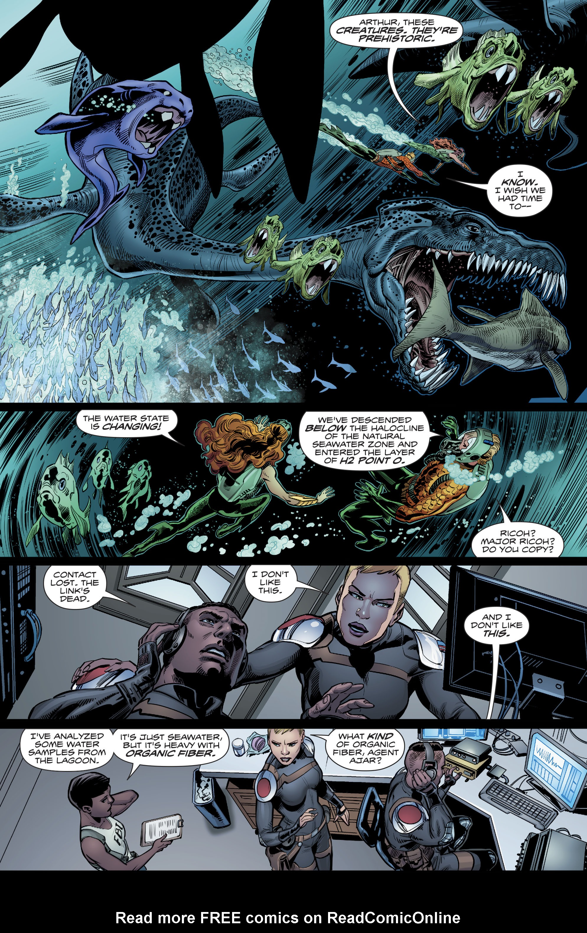 Aquaman (2016) issue 20 - Page 21