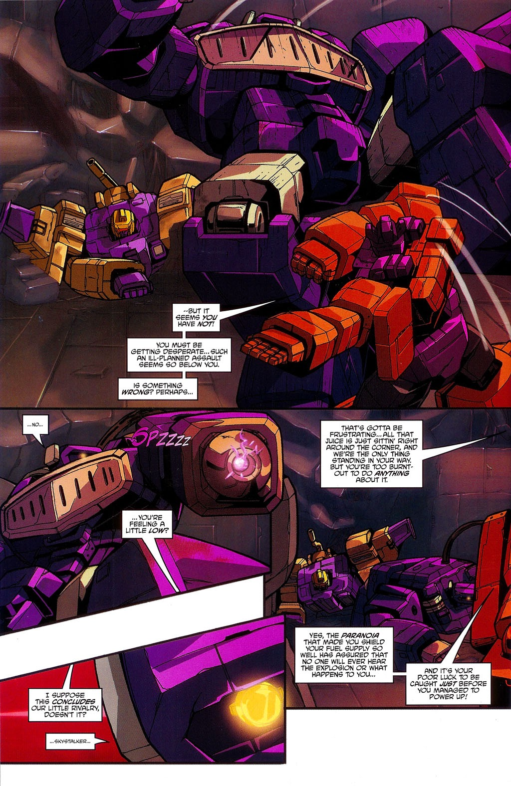 Read online Transformers: Micromasters comic -  Issue #3 - 22