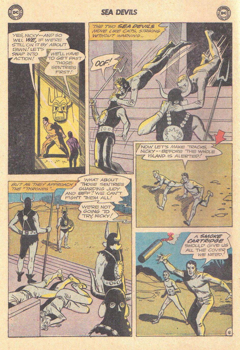 Read online Sea Devils comic -  Issue #16 - 10