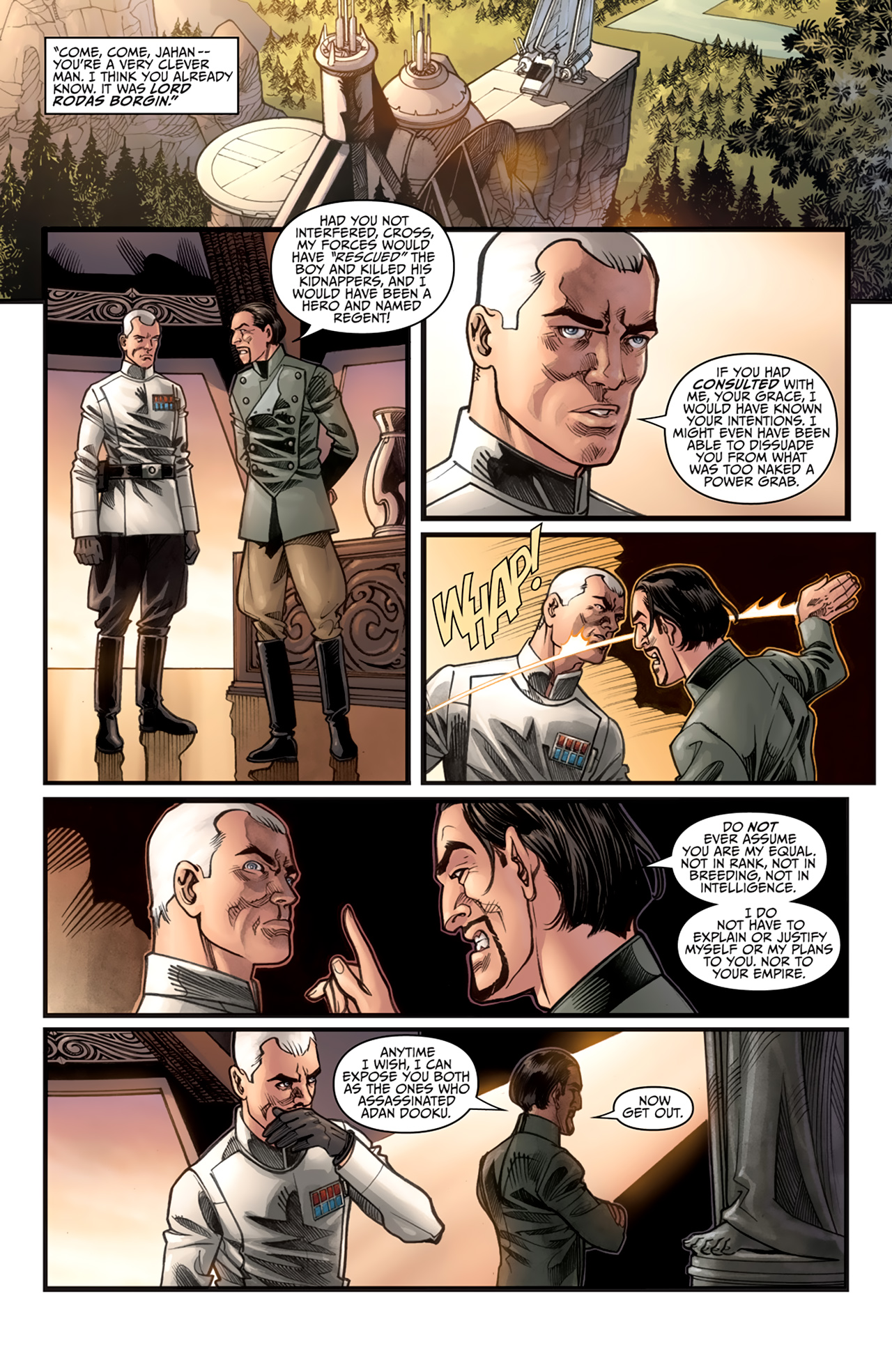 Read online Star Wars: Agent Of The Empire - Hard Targets comic -  Issue #3 - 23