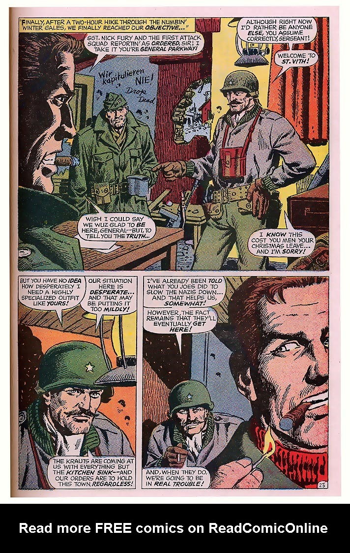Read online Sgt. Fury comic -  Issue # _Special 4 - 29