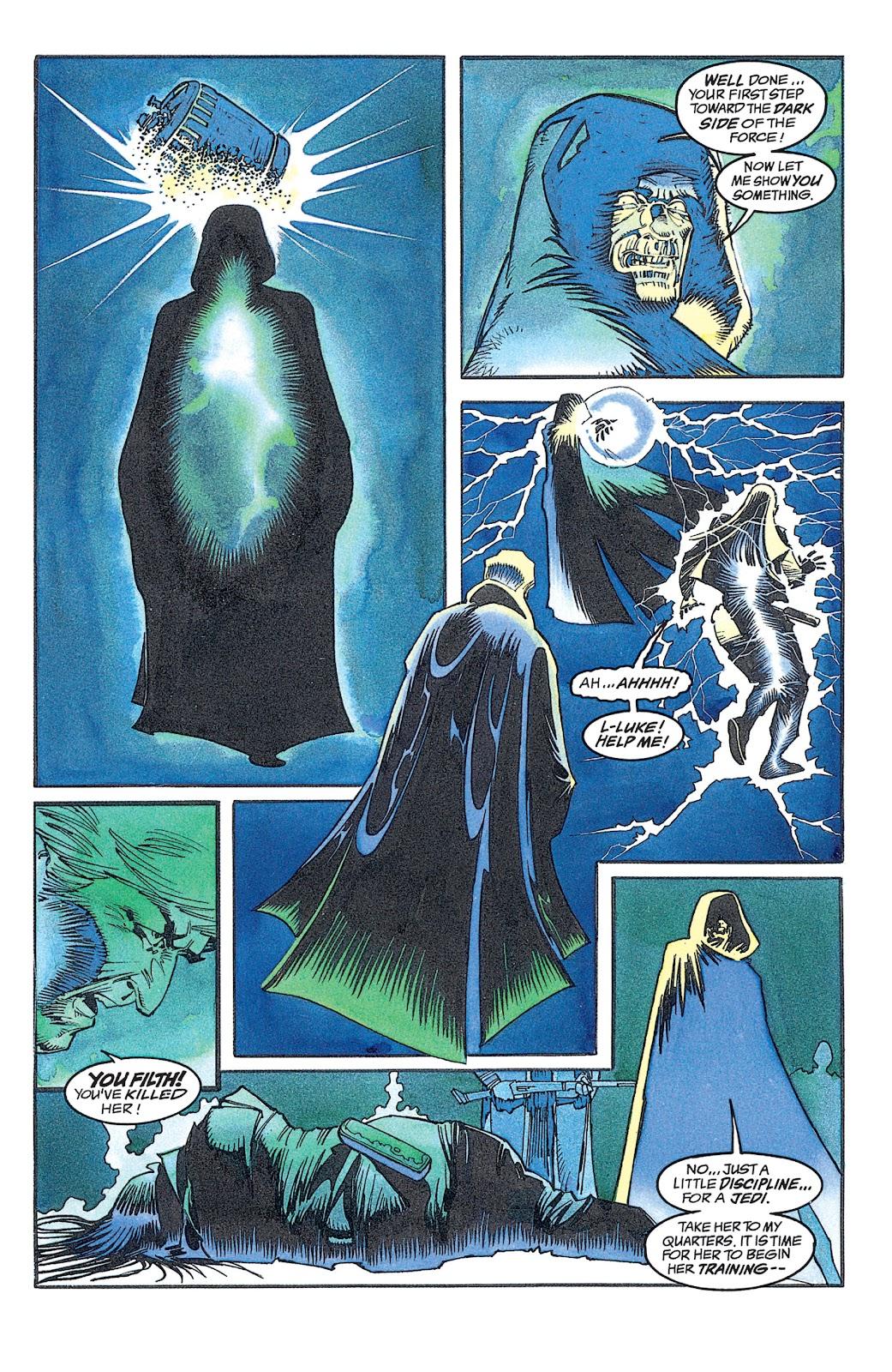 Read online Star Wars: Dark Empire Trilogy comic -  Issue # TPB (Part 2) - 4