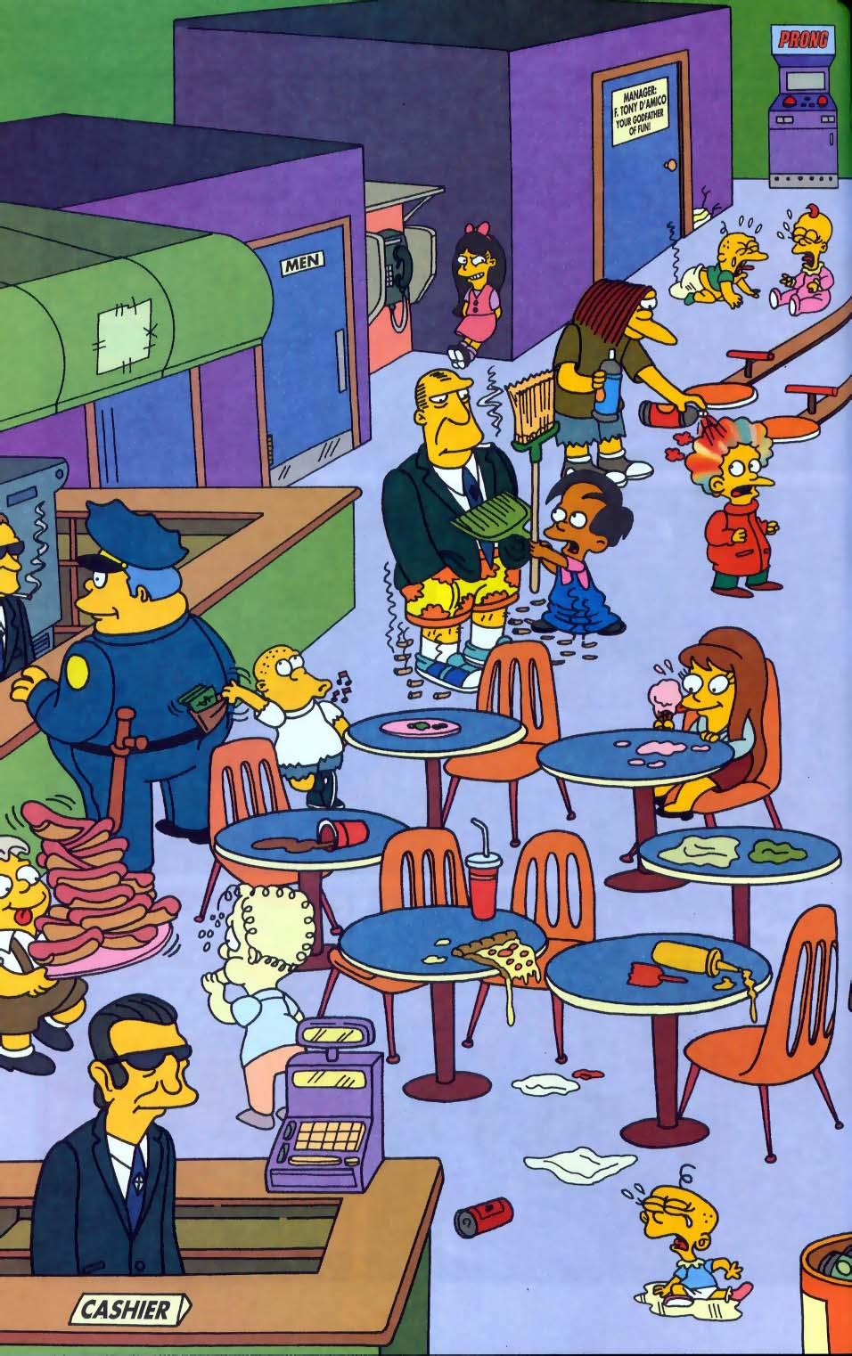 Read online Simpsons Comics comic -  Issue #50 - 69