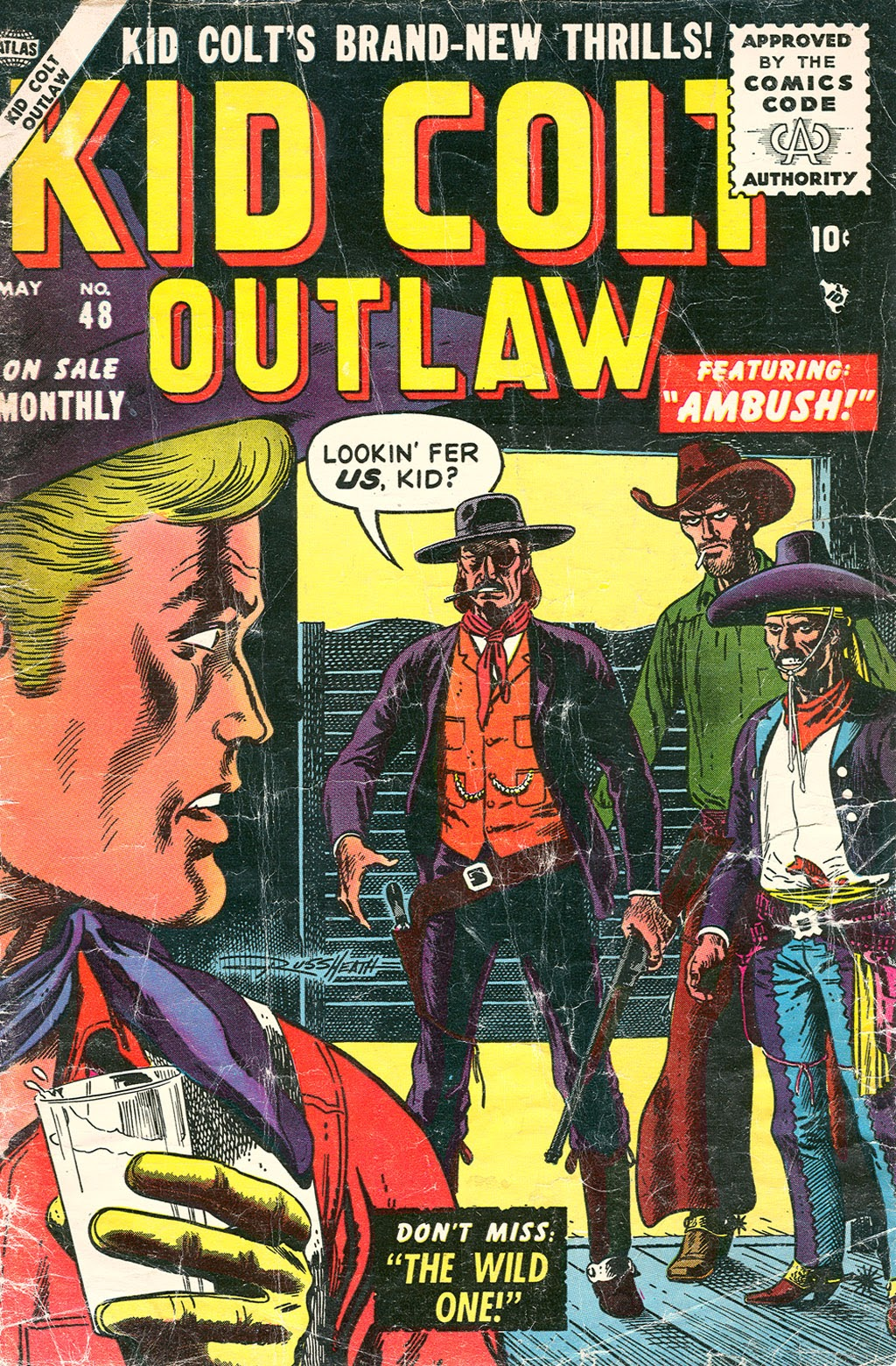 Kid Colt Outlaw issue 48 - Page 1