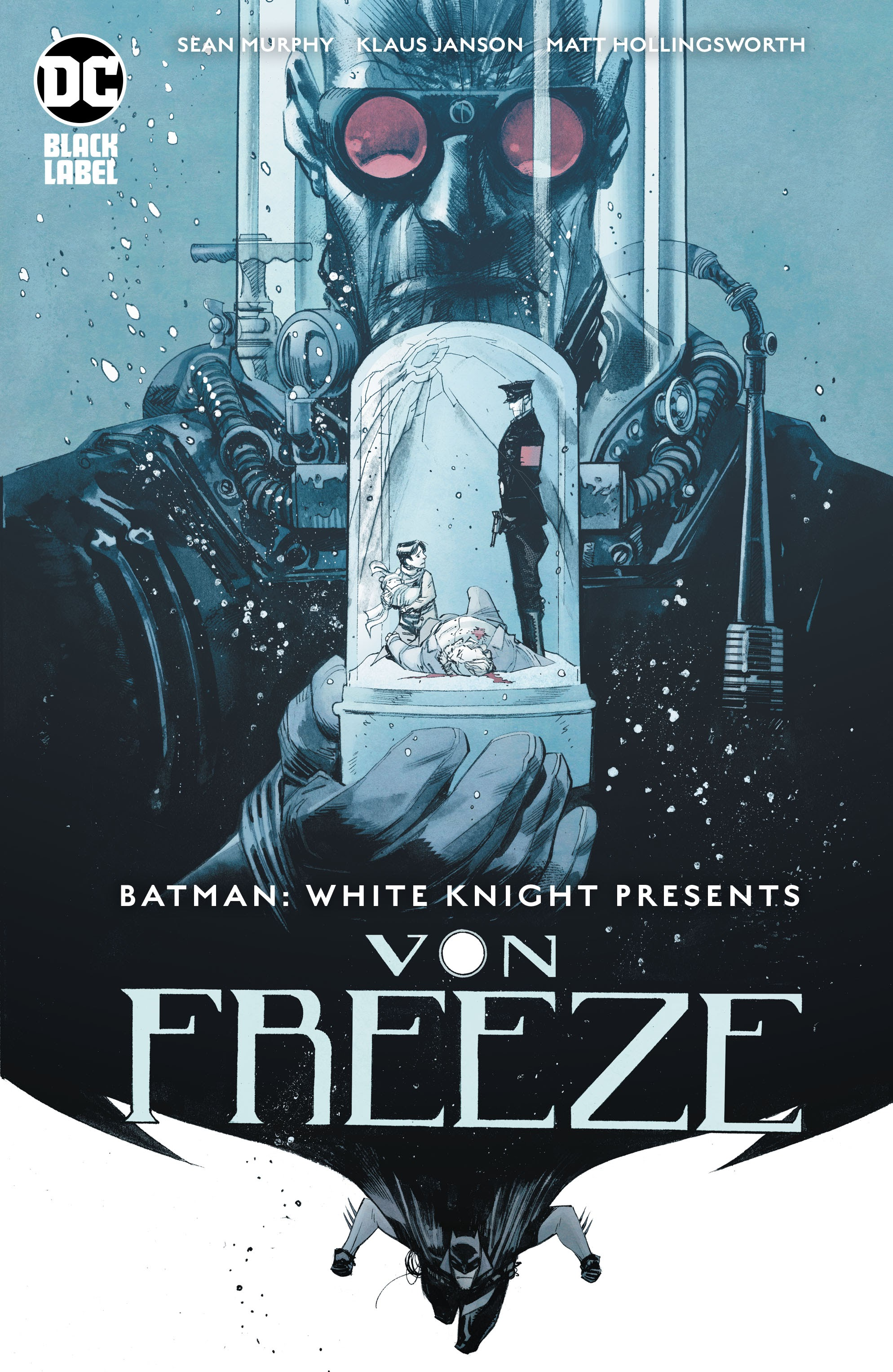 Batman: White Knight Presents Von Freeze Full Page 1