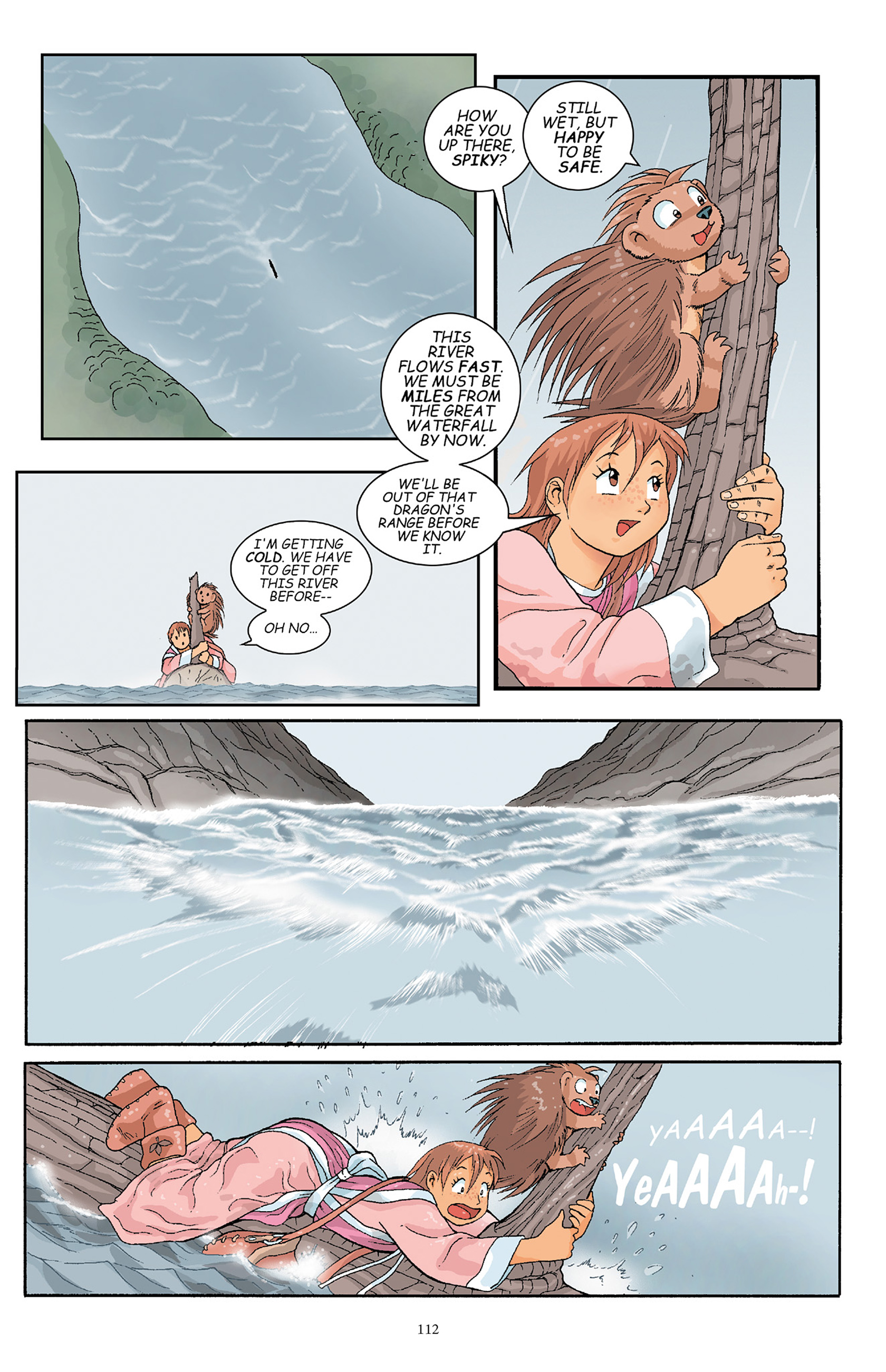 Read online Courageous Princess comic -  Issue # TPB 1 - 111