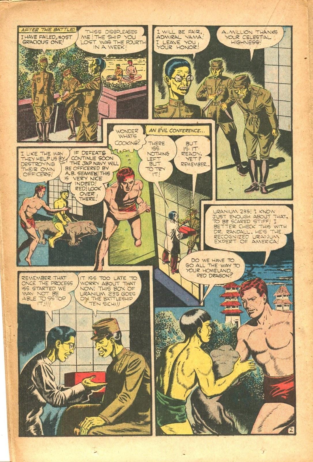 Read online Super-Magician Comics comic -  Issue #35 - 26